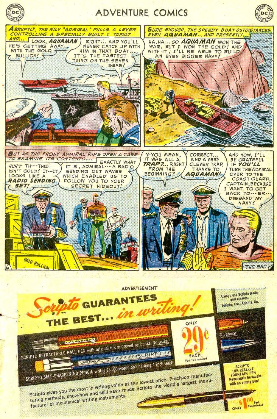 Read online Adventure Comics (1938) comic -  Issue #194 - 22
