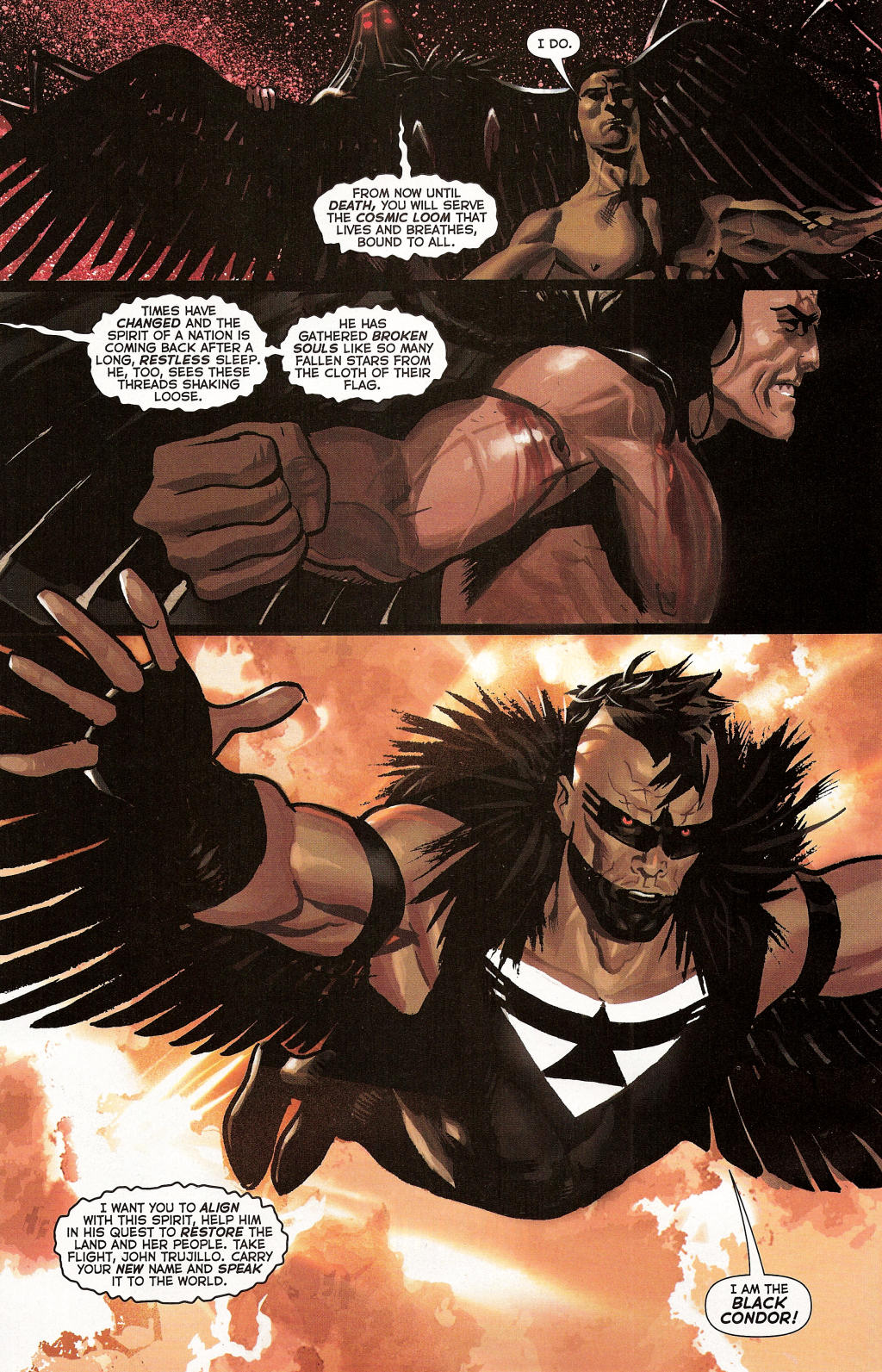 Read online Uncle Sam and the Freedom Fighters (2006) comic -  Issue #3 - 9