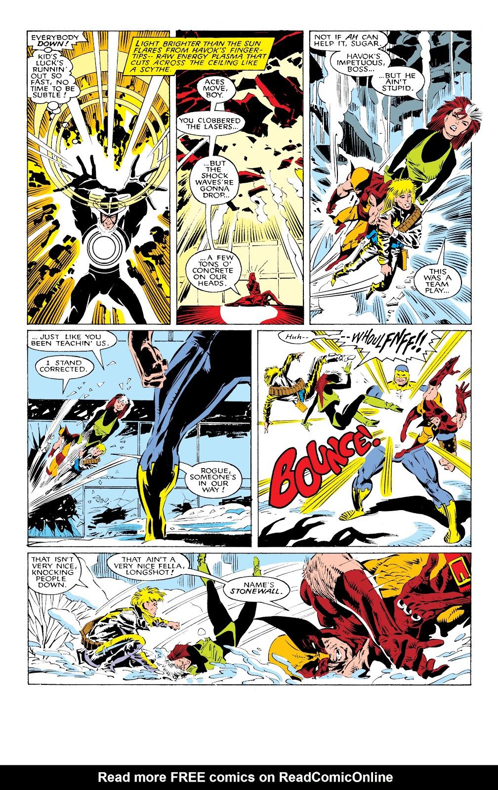 Read online X-Men Milestones: Fall of the Mutants comic -  Issue # TPB (Part 1) - 18