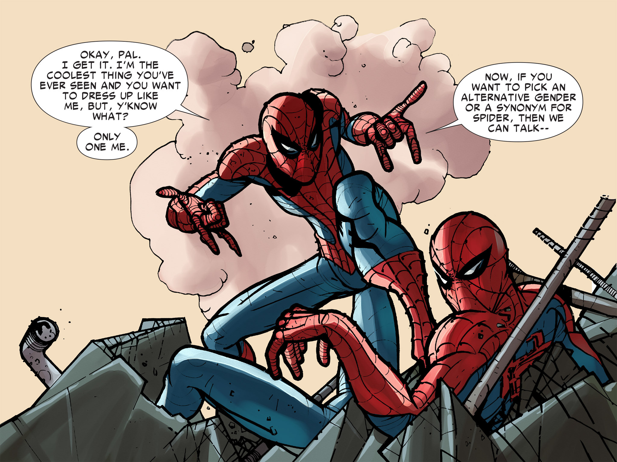 Read online Amazing Spider-Man: Who Am I? comic -  Issue # Full (Part 2) - 135