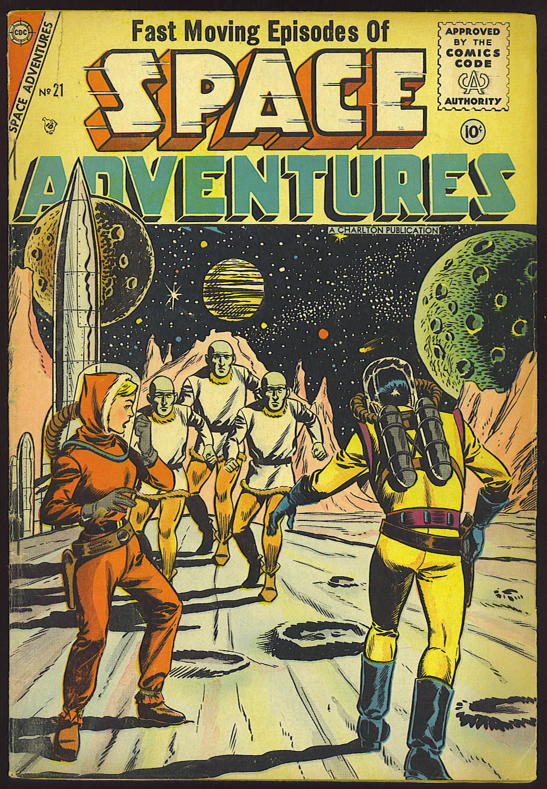 Space Adventures (1952) issue 21 - Page 1