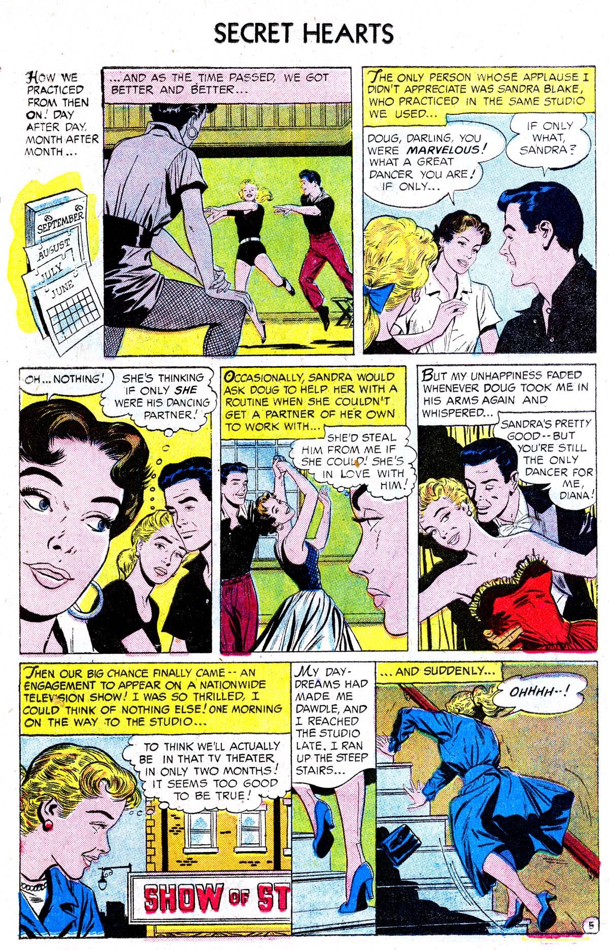 Read online Secret Hearts comic -  Issue #38 - 14