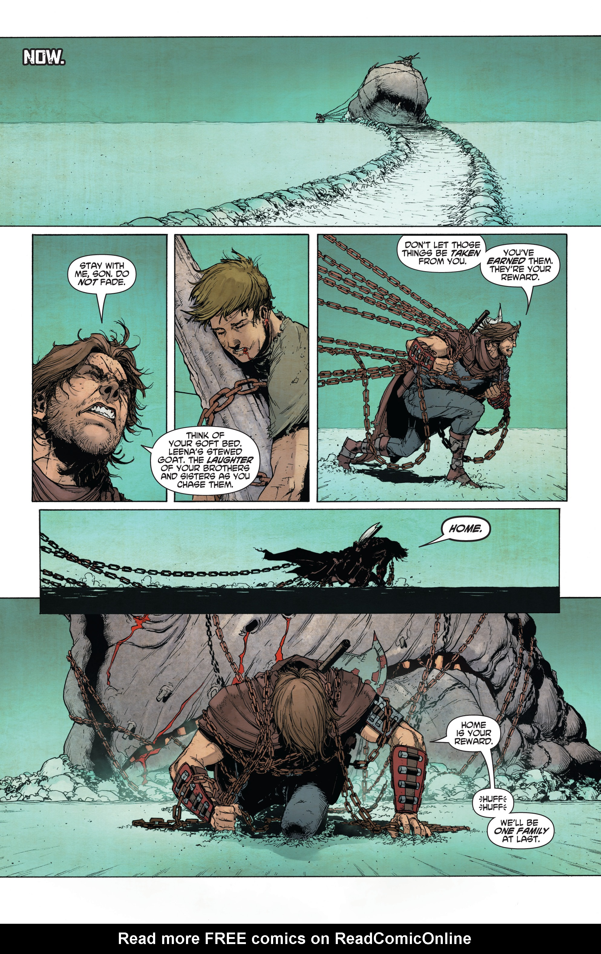 Read online Wrath of the Eternal Warrior comic -  Issue #14 - 8