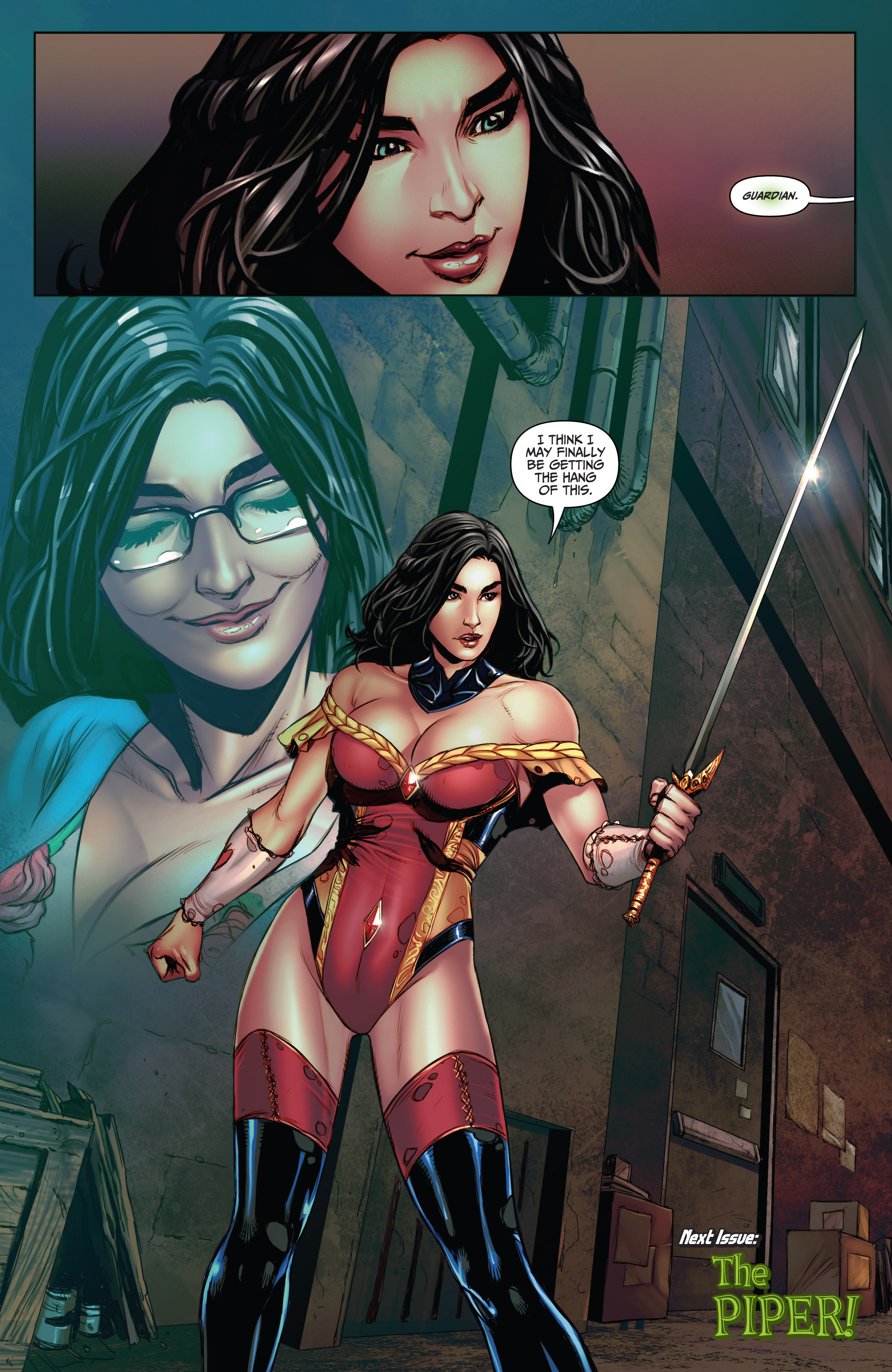 Read online Grimm Fairy Tales (2016) comic -  Issue #5 - 24