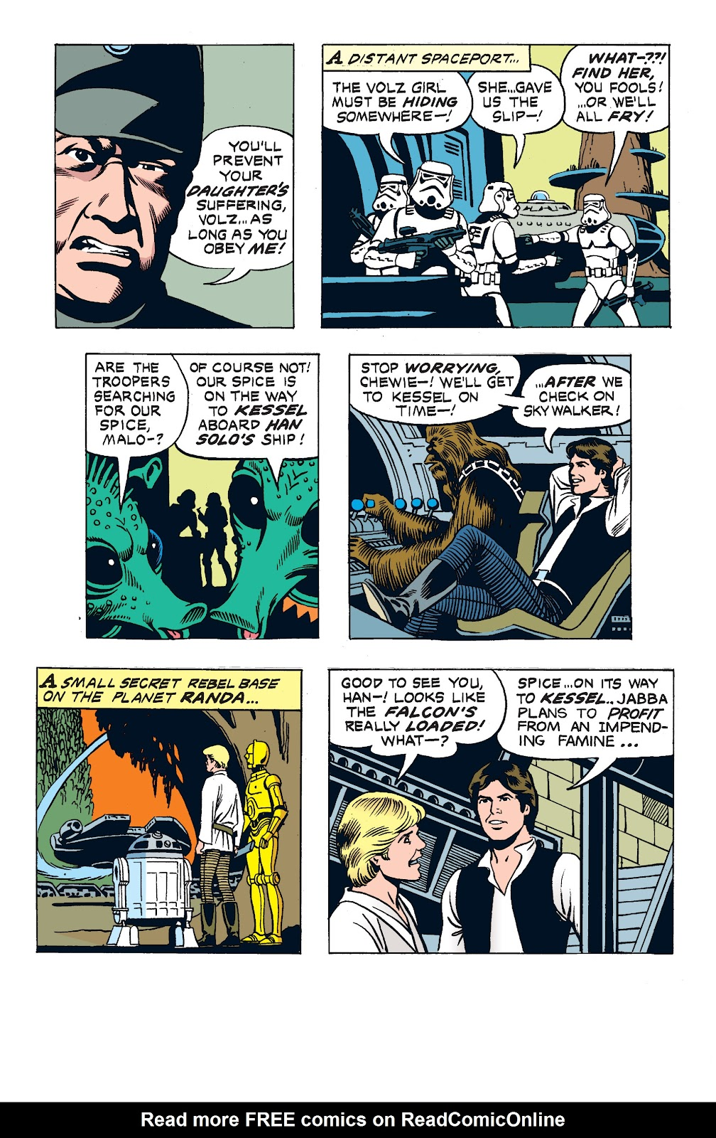 Read online Star Wars Legends: The Newspaper Strips - Epic Collection comic -  Issue # TPB (Part 2) - 79