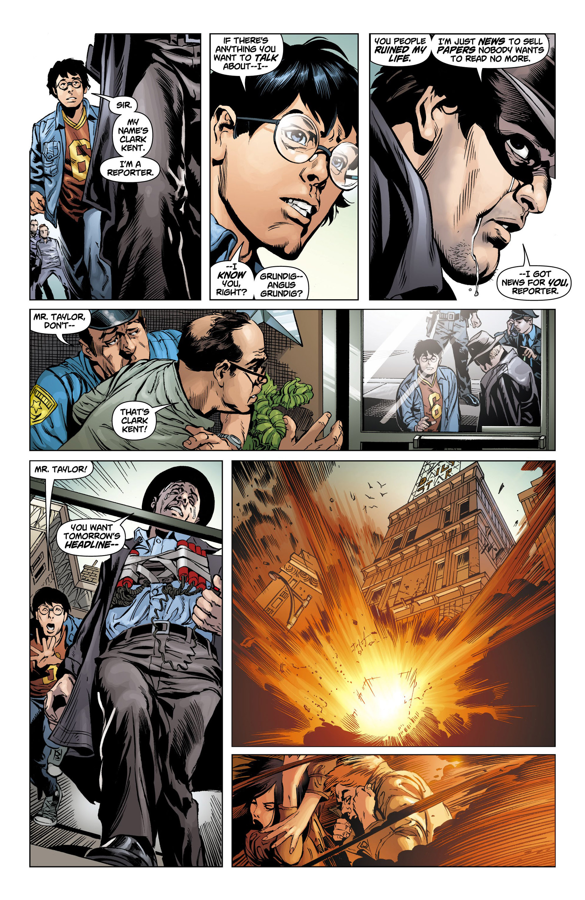 Read online Action Comics (2011) comic -  Issue #10 - 15
