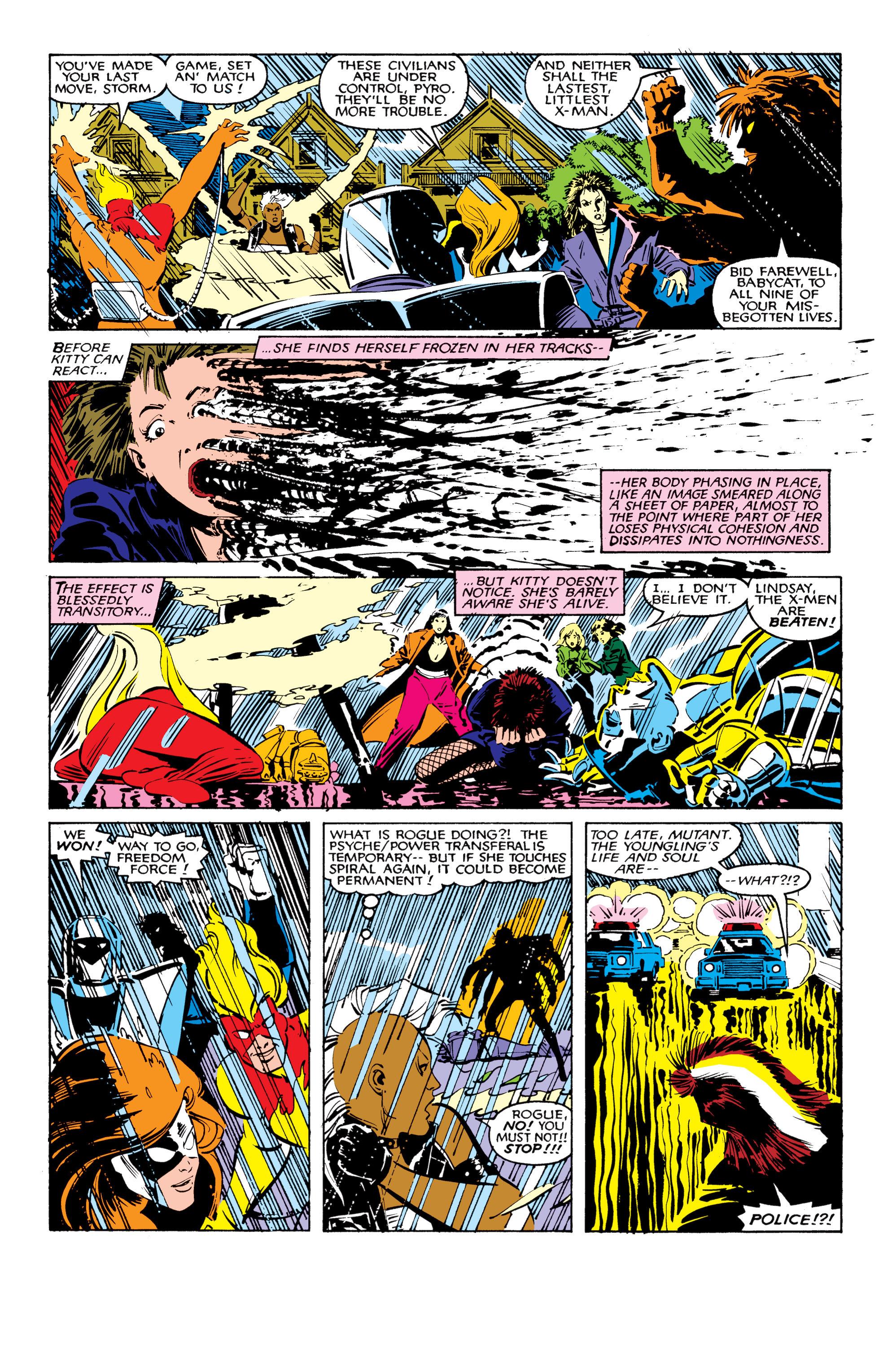 Read online Uncanny X-Men (1963) comic -  Issue #206 - 20