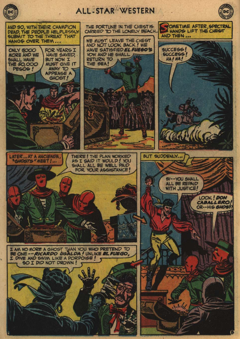 Read online All-Star Western (1951) comic -  Issue #60 - 22