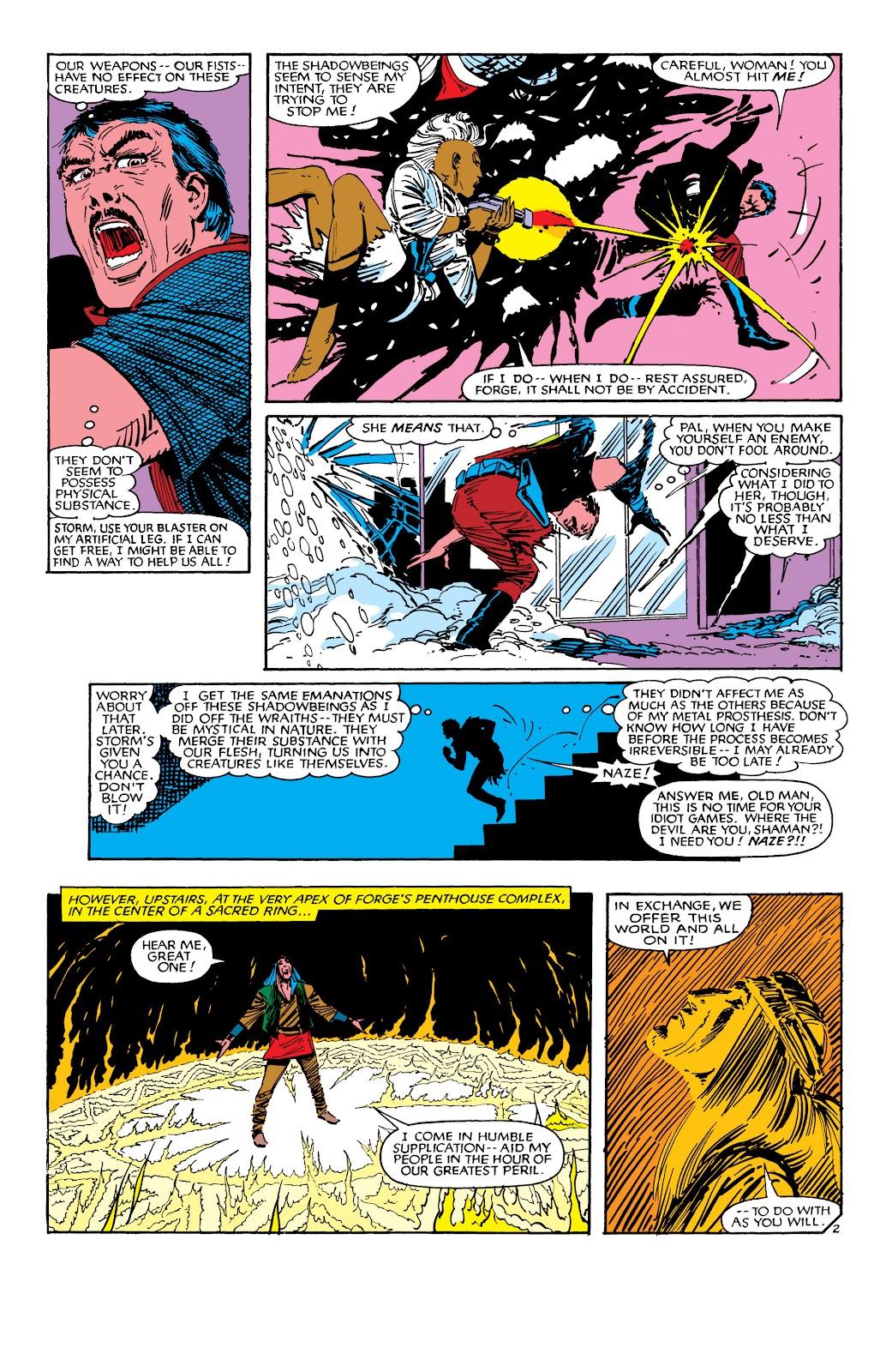 Uncanny X-Men (1963) issue 188 - Page 3