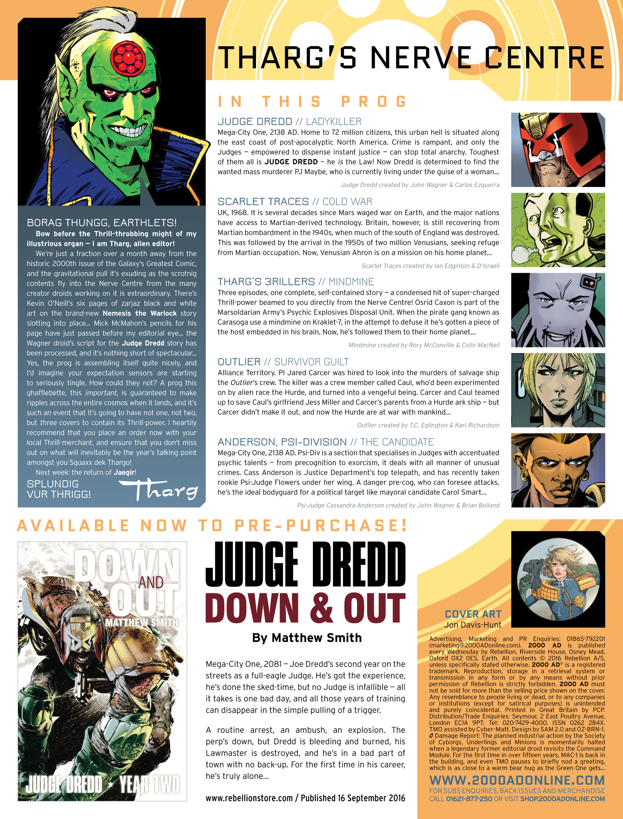 Read online 2000 AD comic -  Issue #1995 - 2