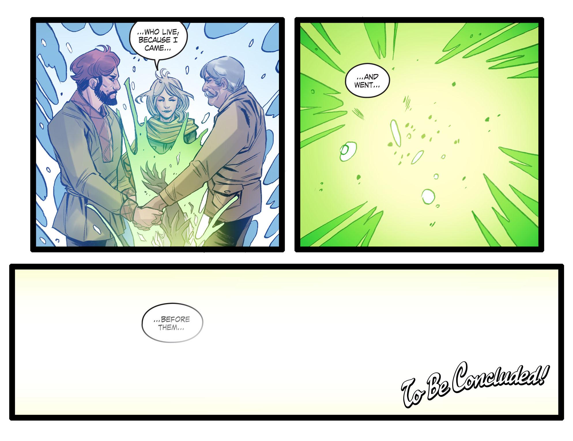 Read online DC Comics: Bombshells comic -  Issue #99 - 23