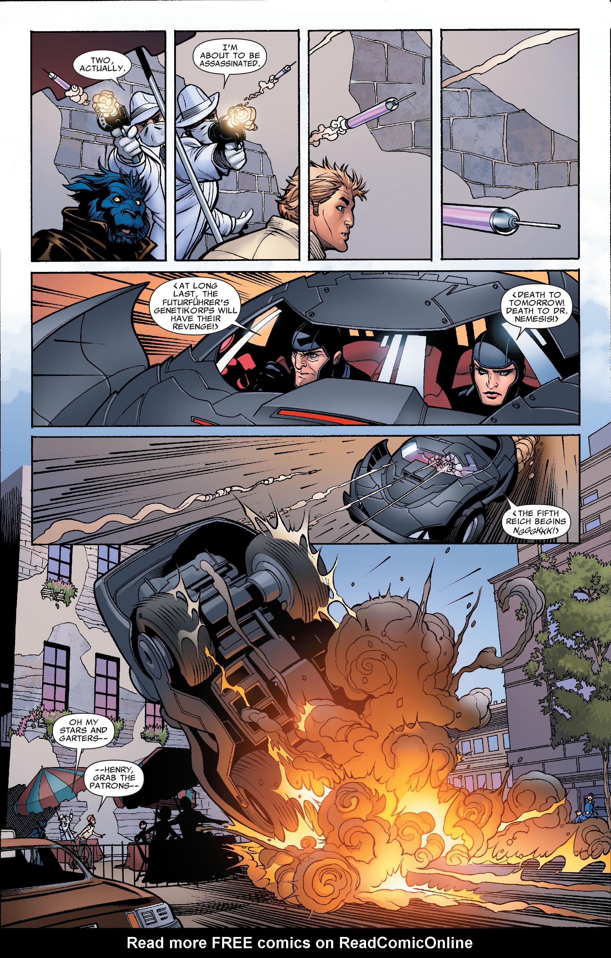 Read online Uncanny X-Men (1963) comic -  Issue #504 - 18