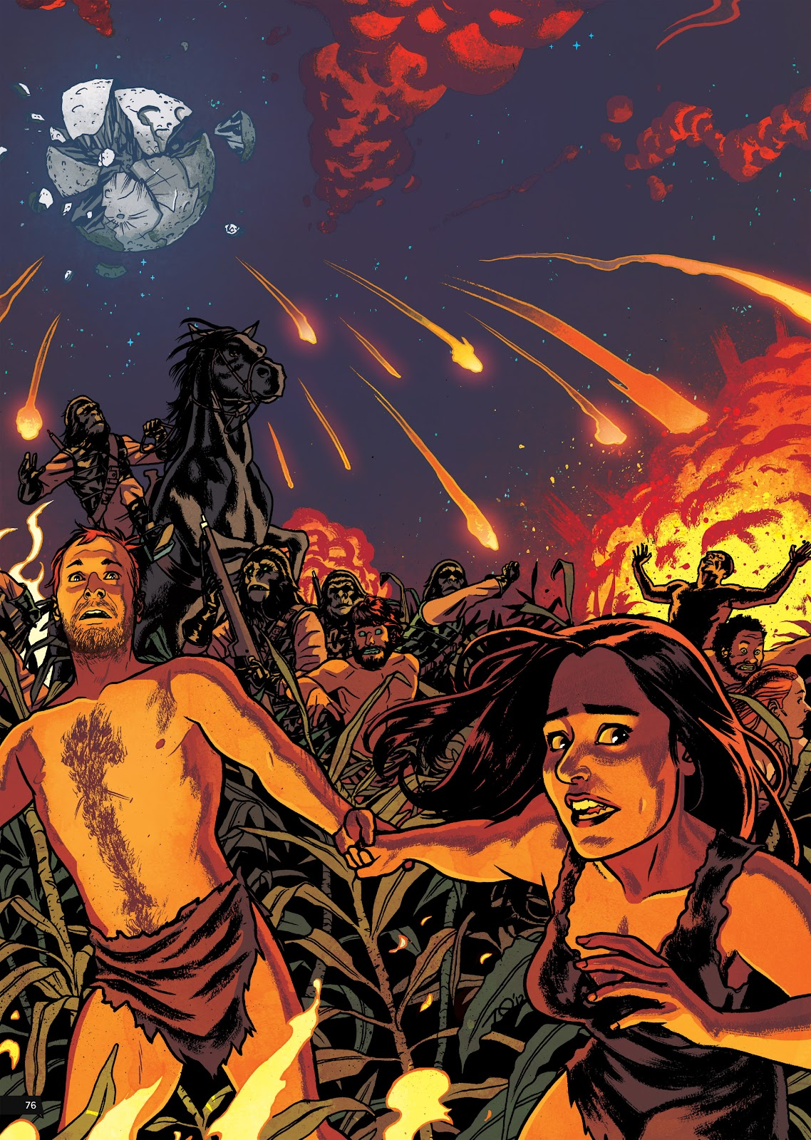 Read online Planet of the Apes Artist Tribute comic -  Issue # TPB - 76