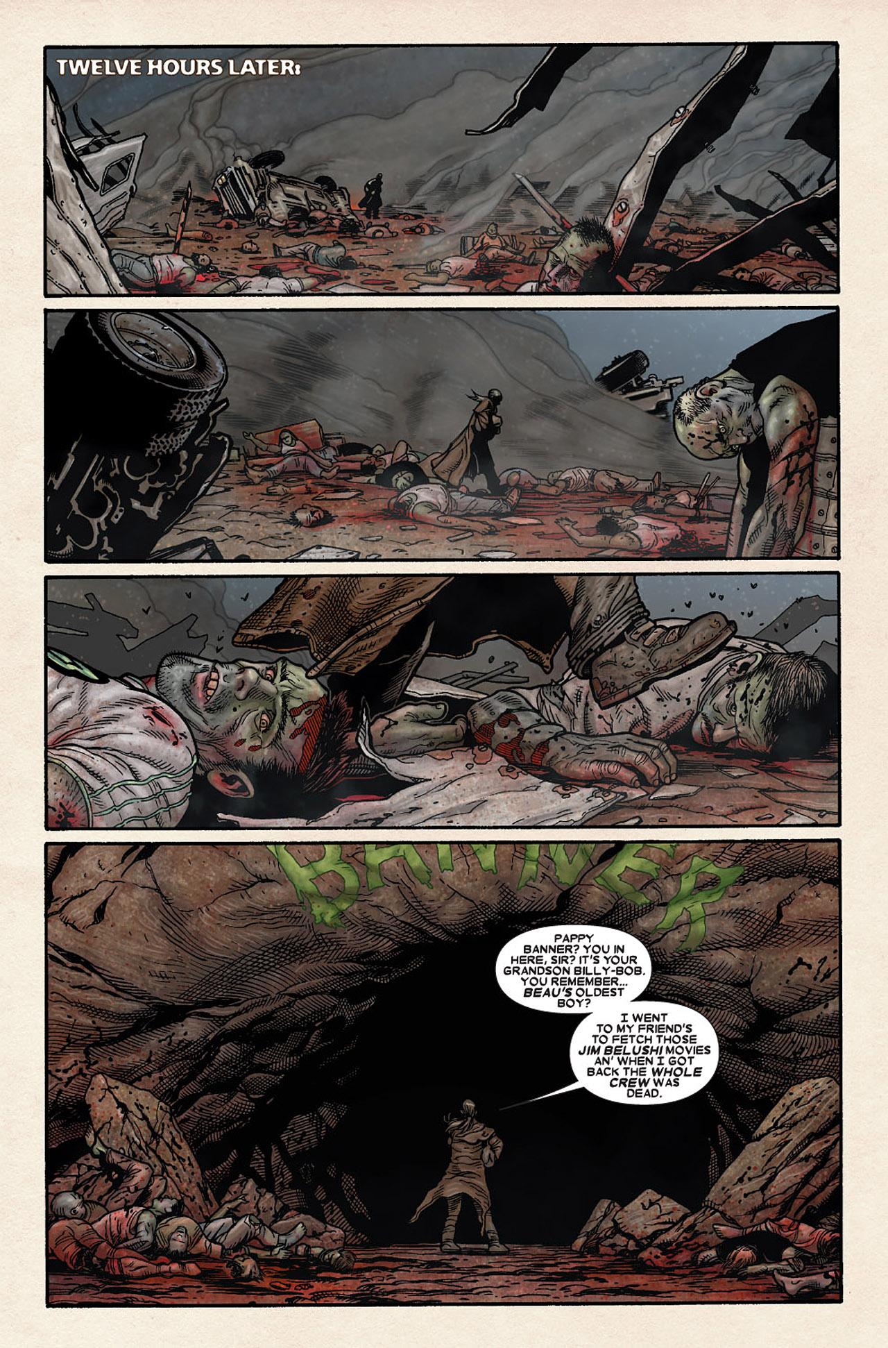 Read online Wolverine: Old Man Logan comic -  Issue # Full - 187