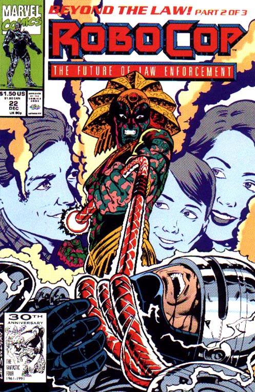 Read online Robocop (1990) comic -  Issue #22 - 1