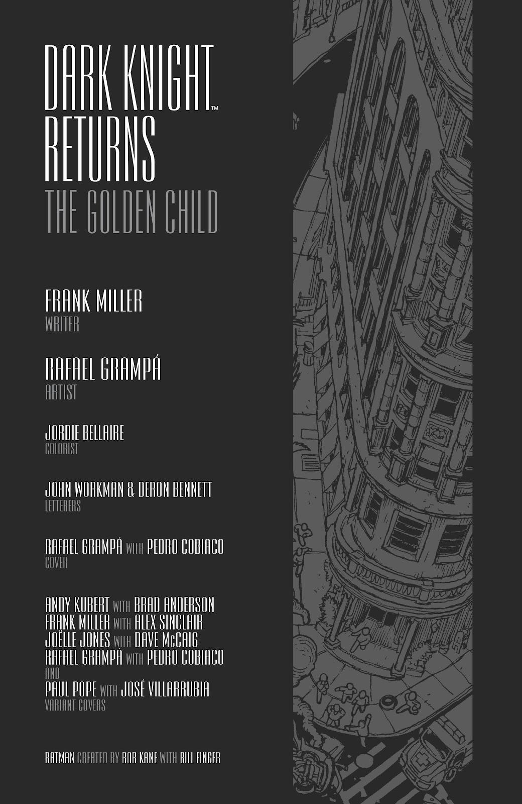 Dark Knight Returns: The Golden Child issue Full - Page 2