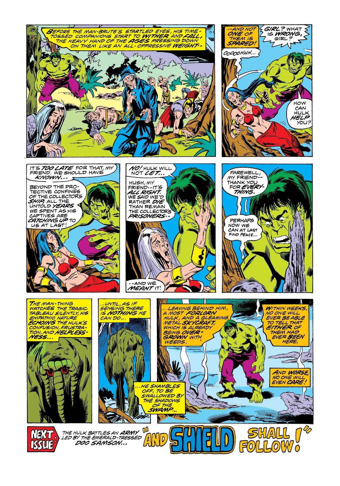 Read online Marvel Masterworks: The Incredible Hulk comic -  Issue # TPB 12 (Part 1) - 45