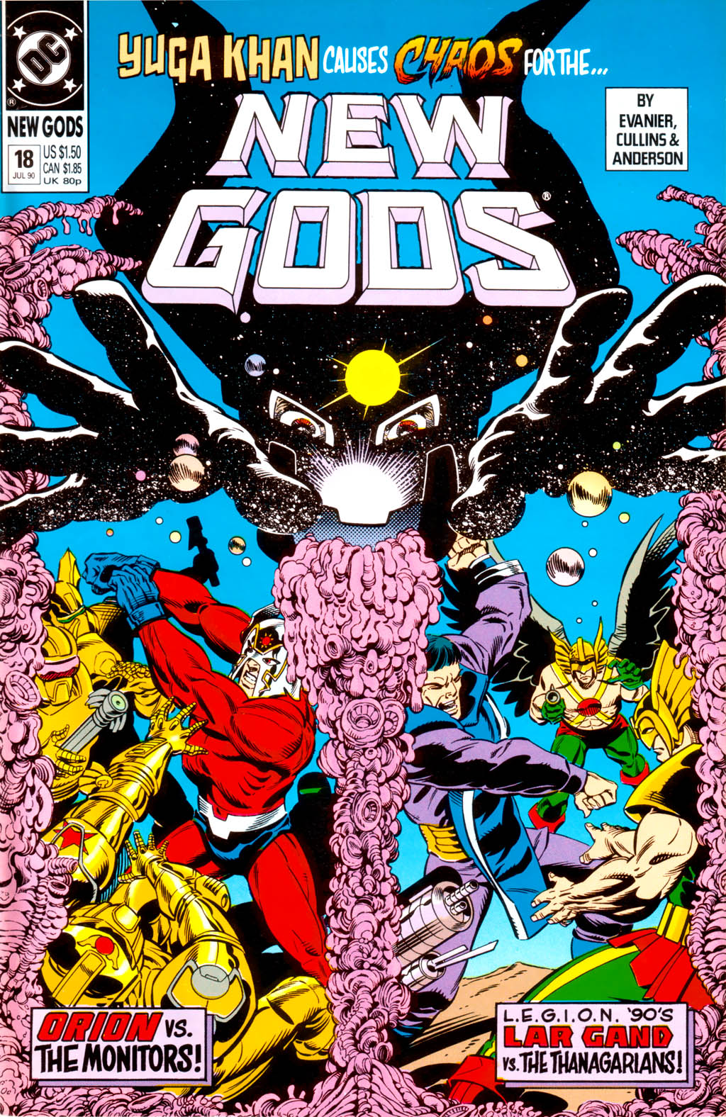 The New Gods (1989) 18 Page 1