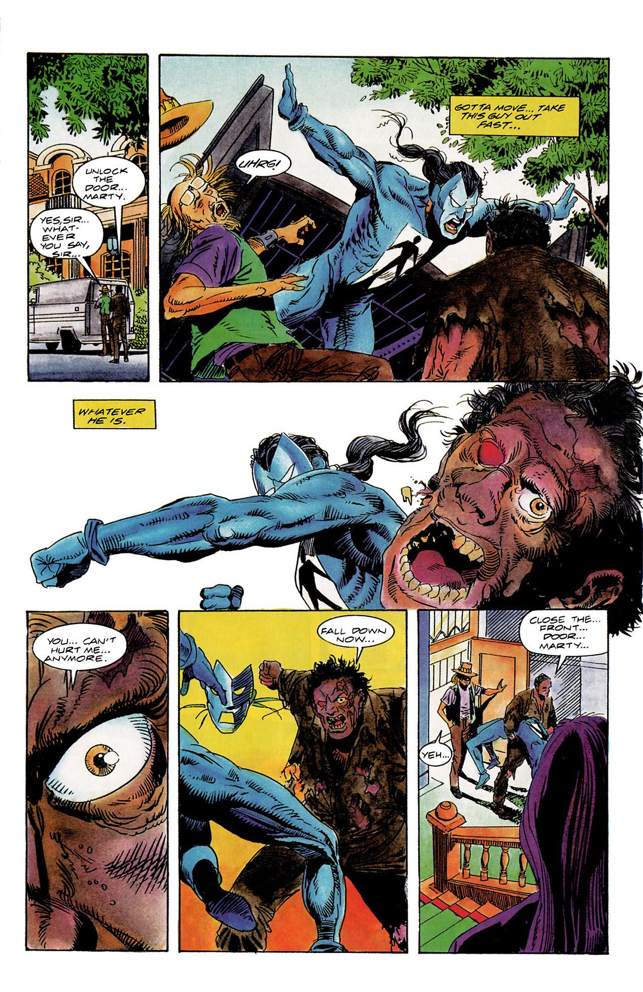 Read online Shadowman (1992) comic -  Issue #10 - 11