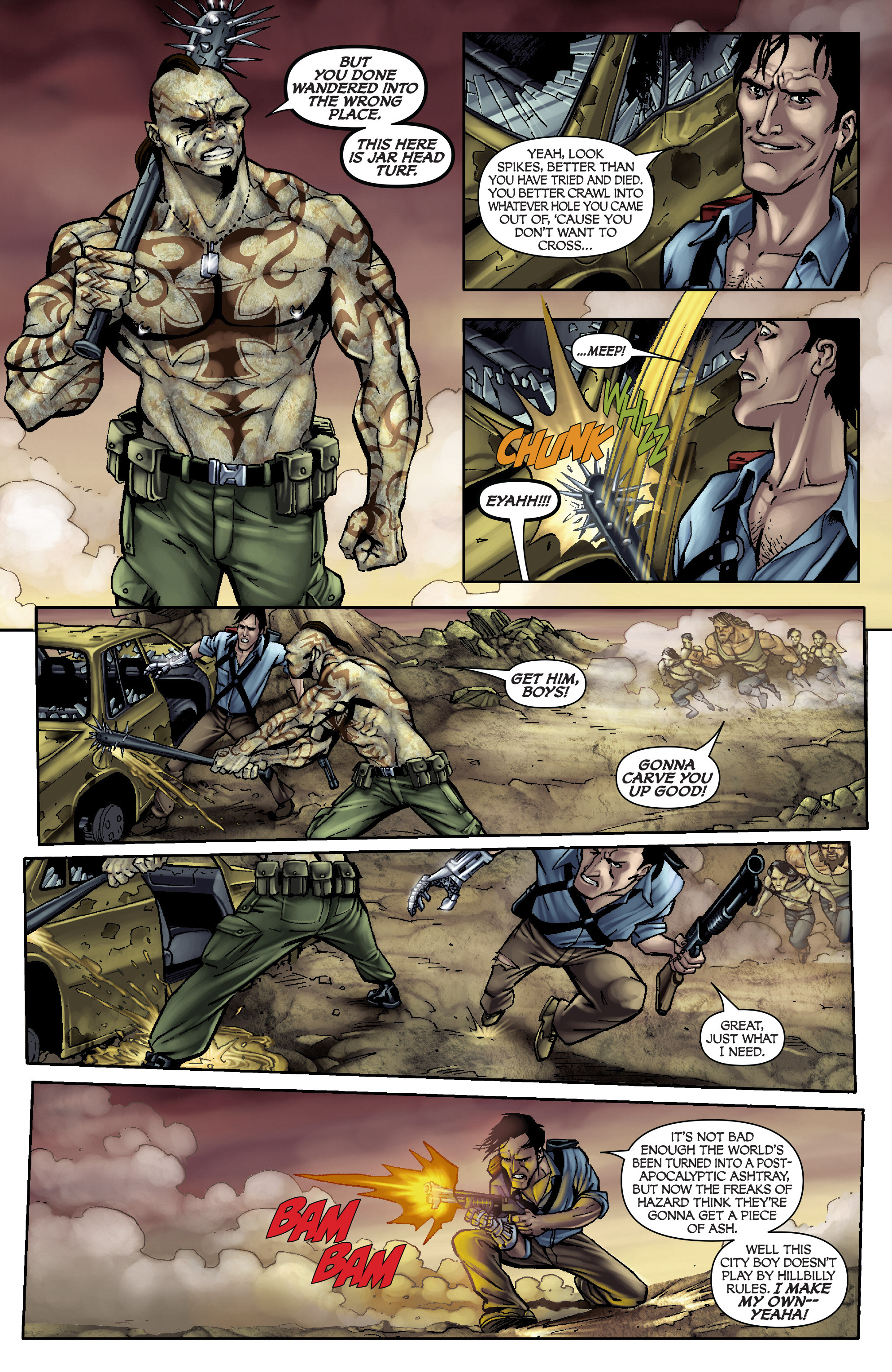 Read online Army of Darkness: From the Ashes comic -  Issue #Army of Darkness: From the Ashes TPB - 15