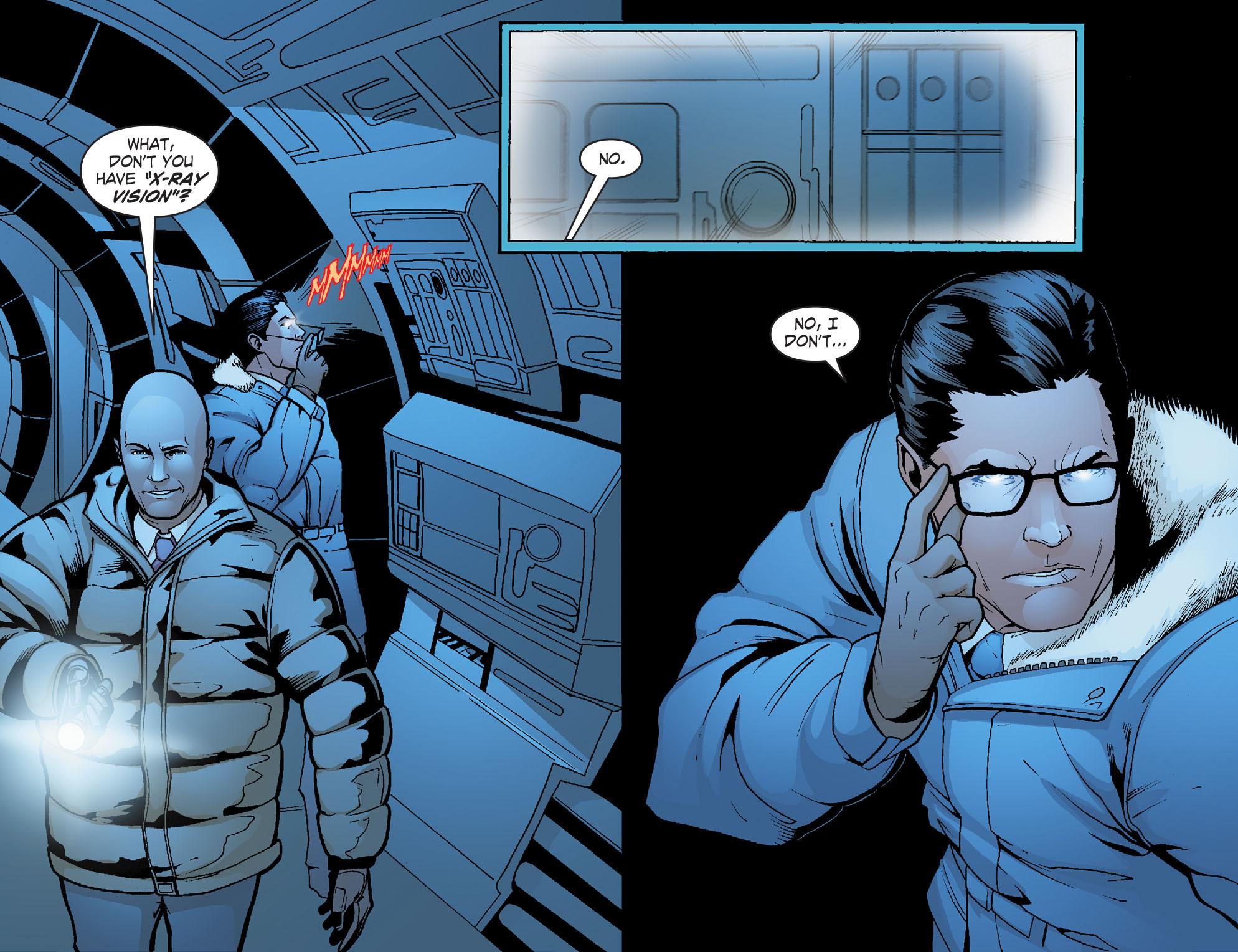 Read online Smallville: Alien comic -  Issue #8 - 18