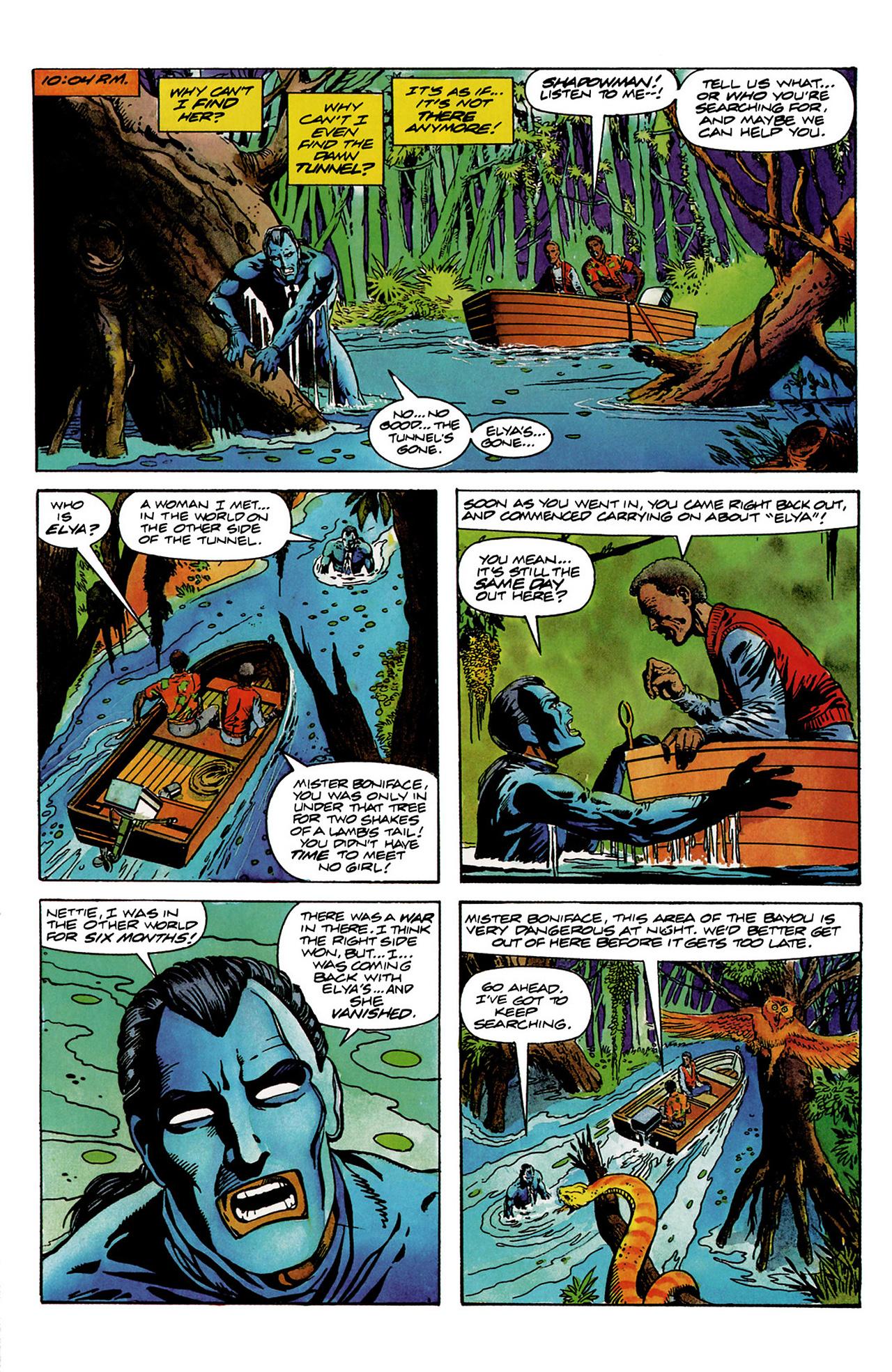 Read online Shadowman (1992) comic -  Issue #6 - 4