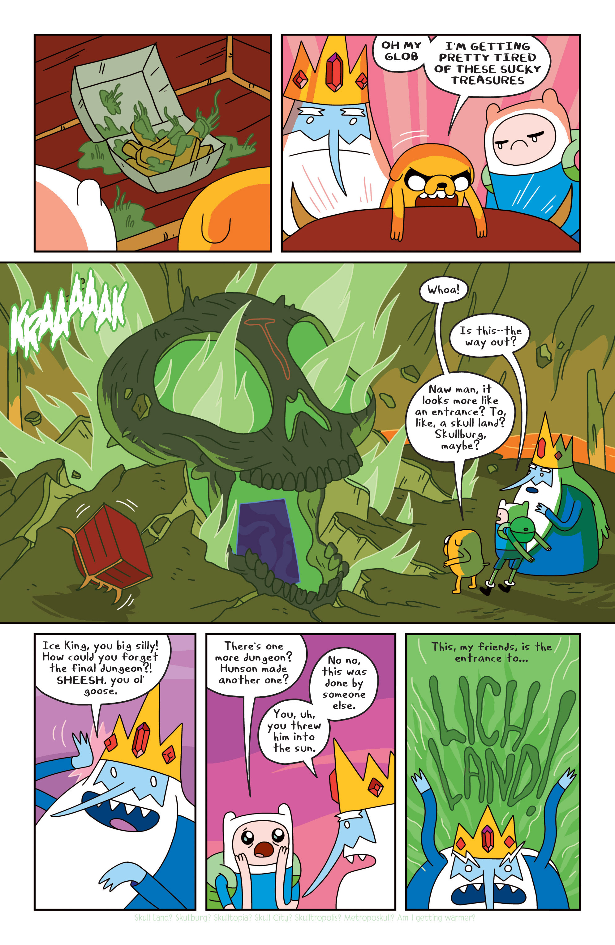 Read online Adventure Time comic -  Issue #18 - 13