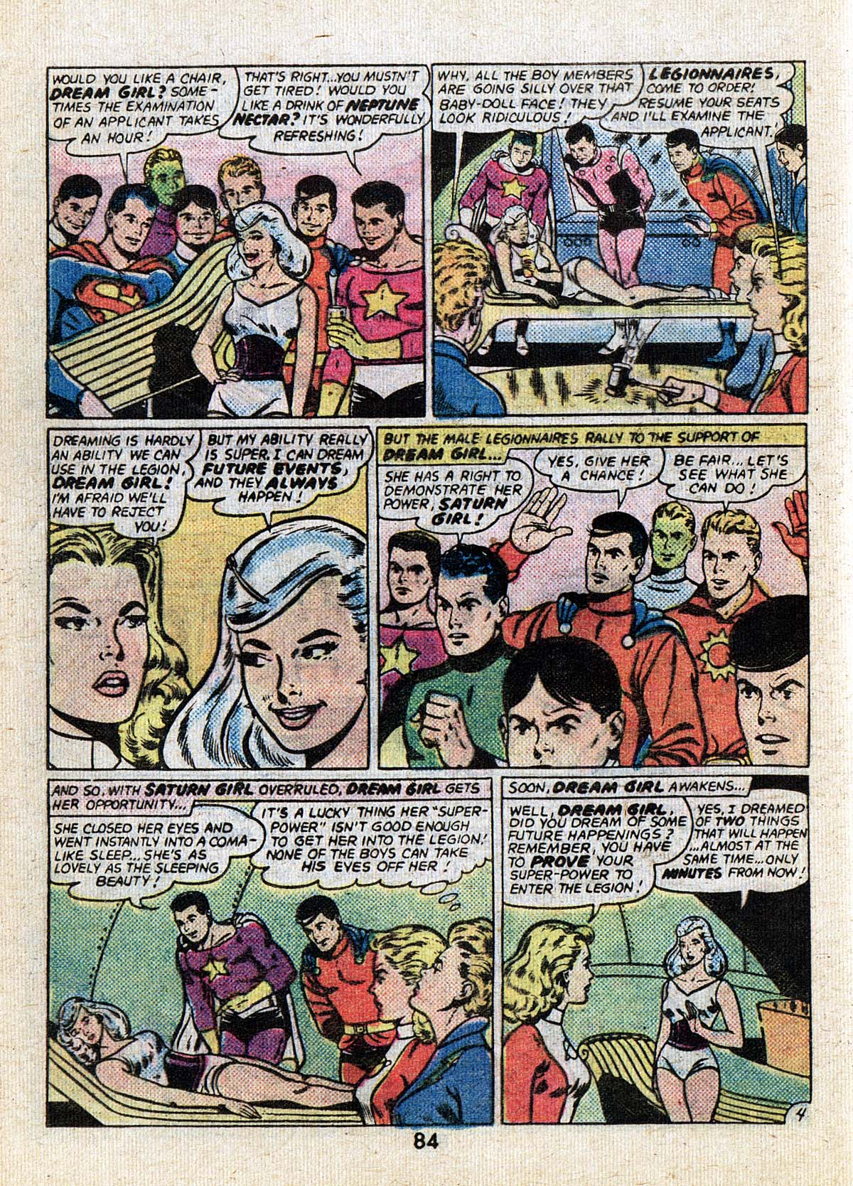 Read online Adventure Comics (1938) comic -  Issue #502 - 84