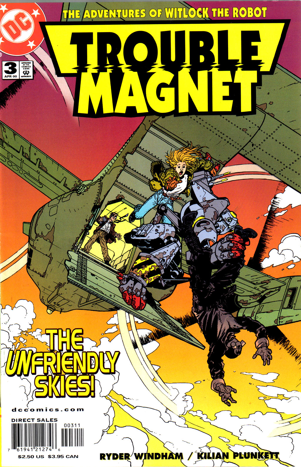Read online Trouble Magnet comic -  Issue #3 - 1