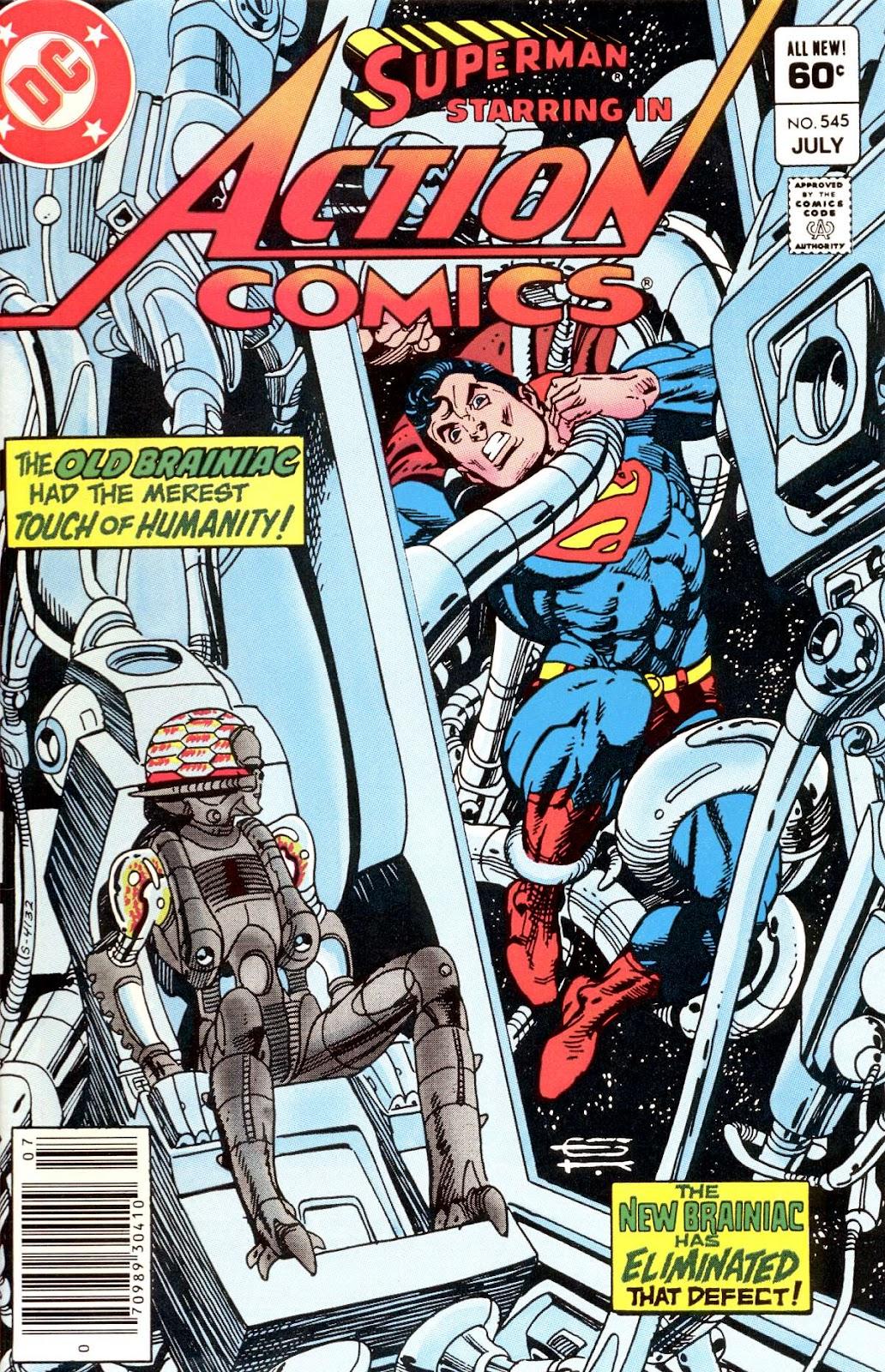 Action Comics (1938) 545 Page 1