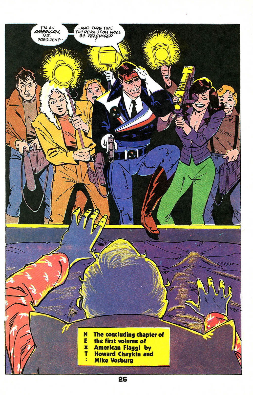 Read online American Flagg! comic -  Issue #49 - 32