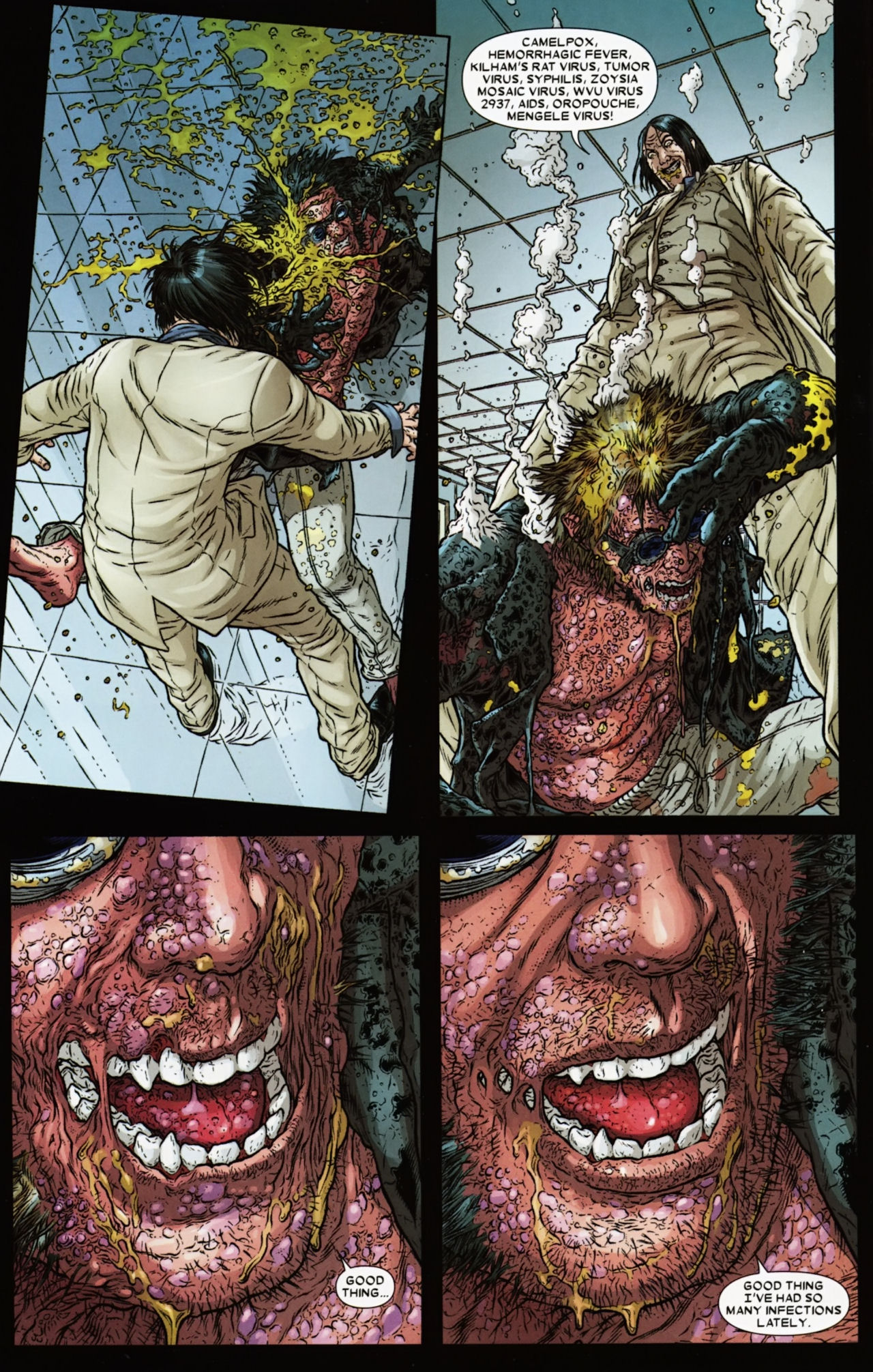 Read online Wolverine: The Best There Is comic -  Issue #6 - 20