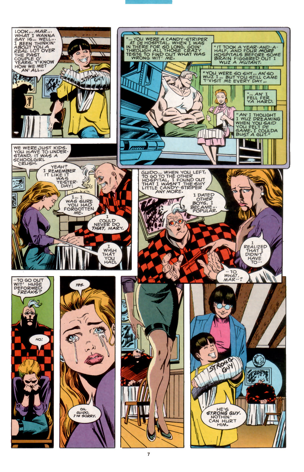 Read online X-Factor (1986) comic -  Issue #104 - 7
