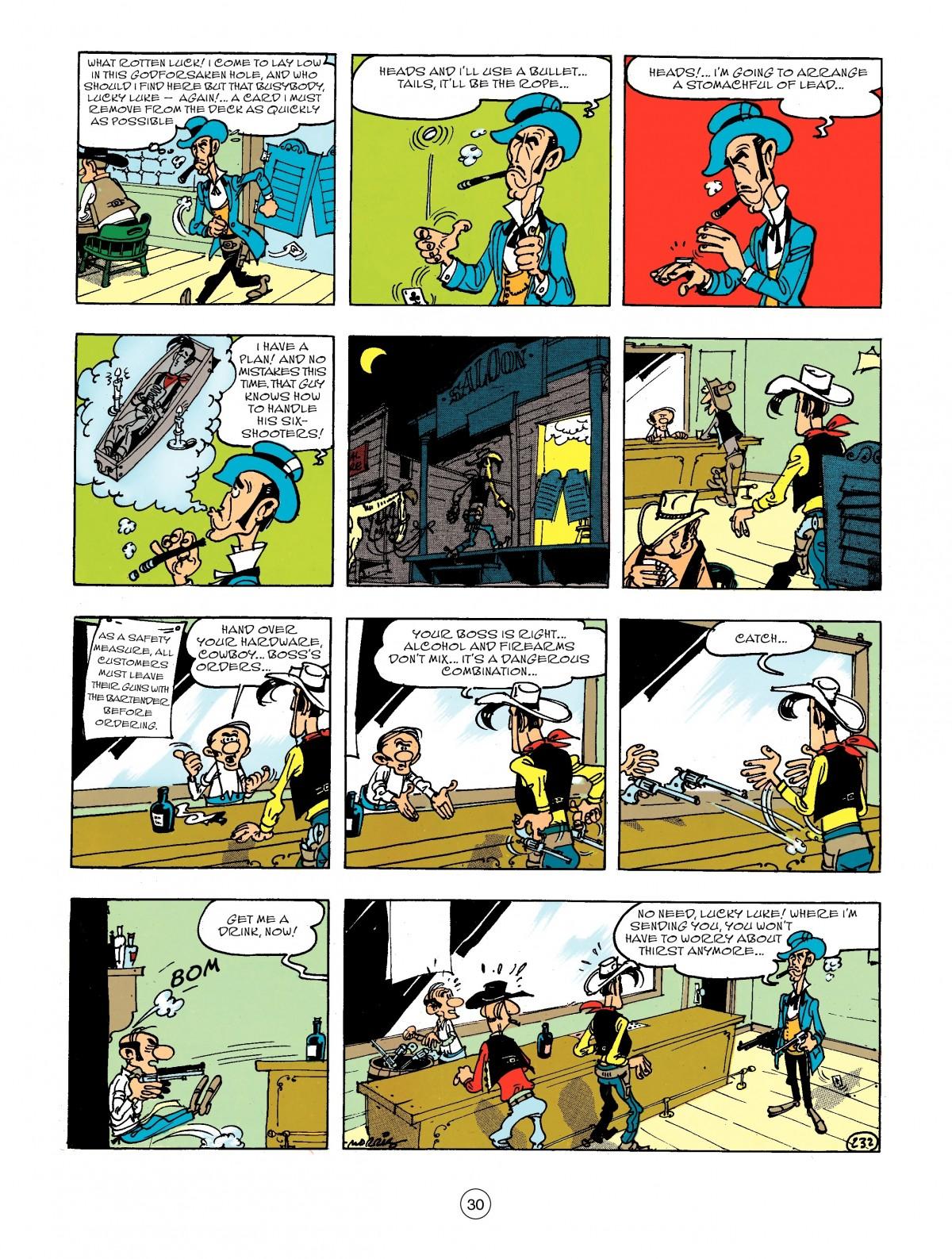 Read online A Lucky Luke Adventure comic -  Issue #44 - 30