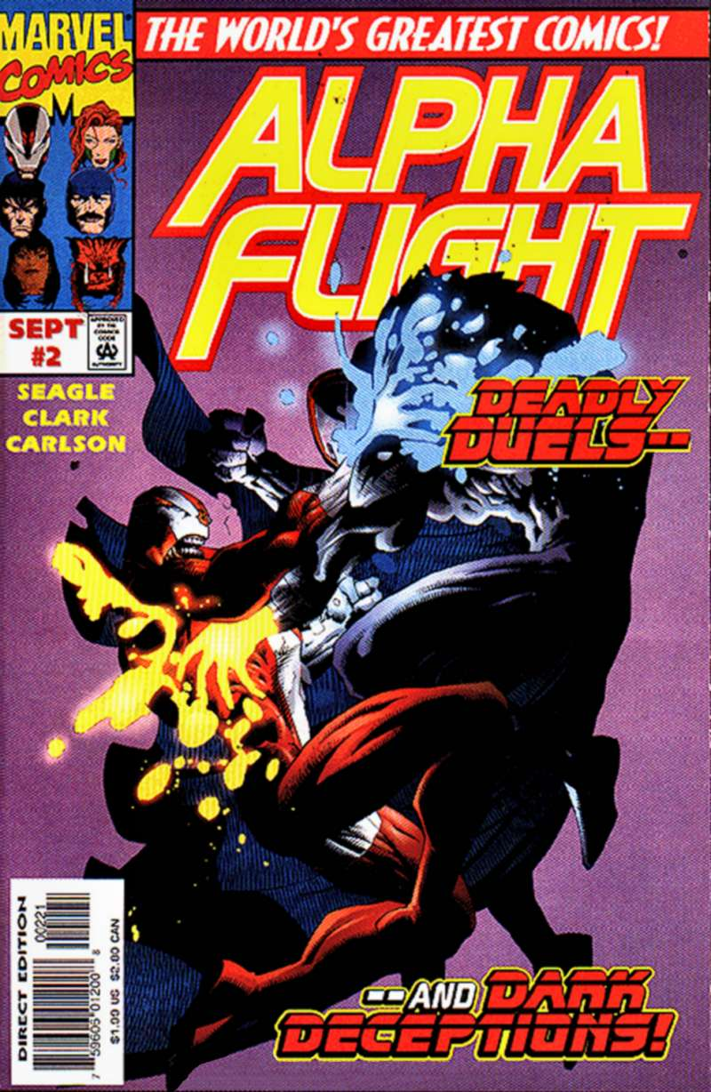 Read online Alpha Flight (1997) comic -  Issue #2 - 2