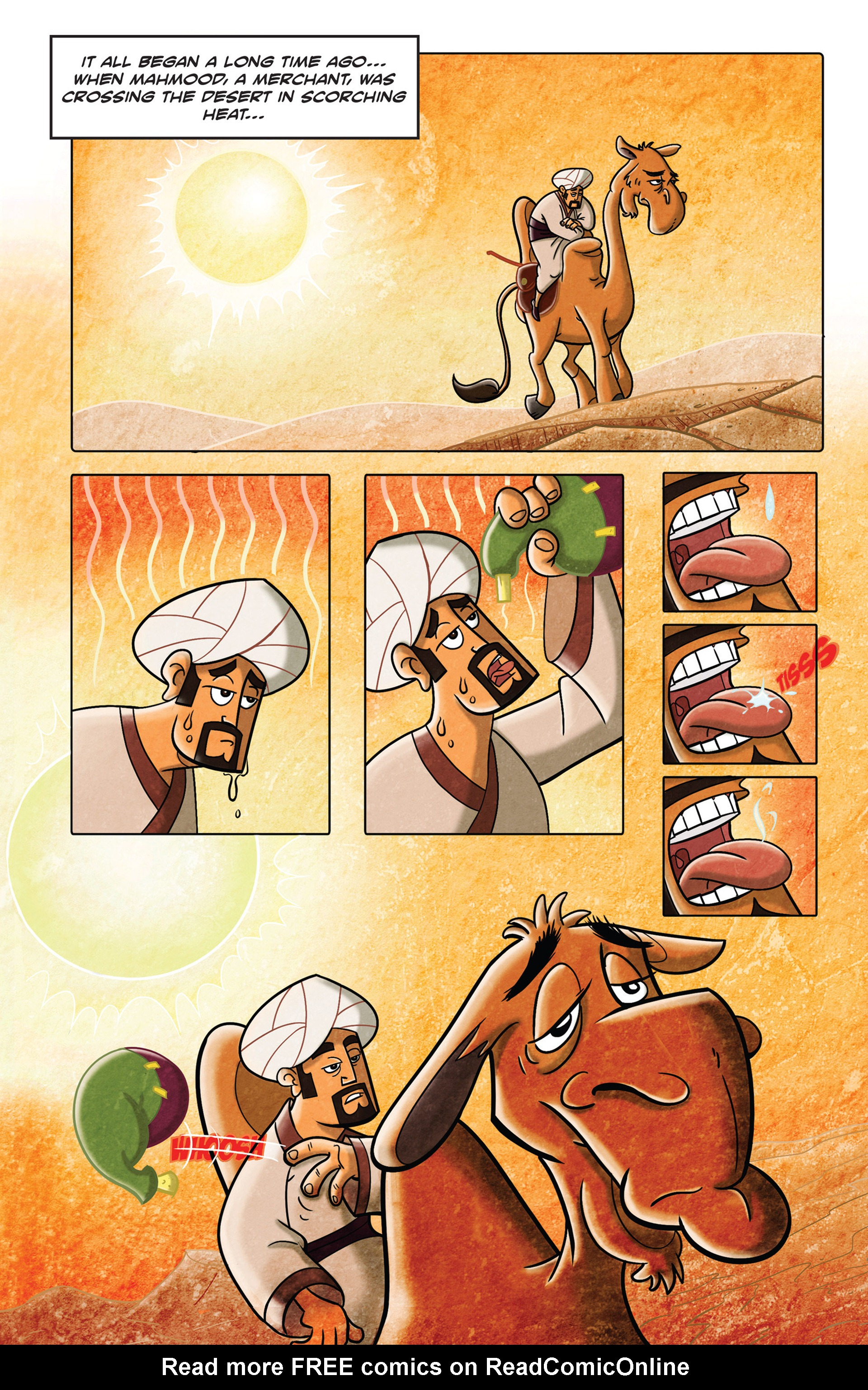 Read online 1001 Nights comic -  Issue #3 - 5