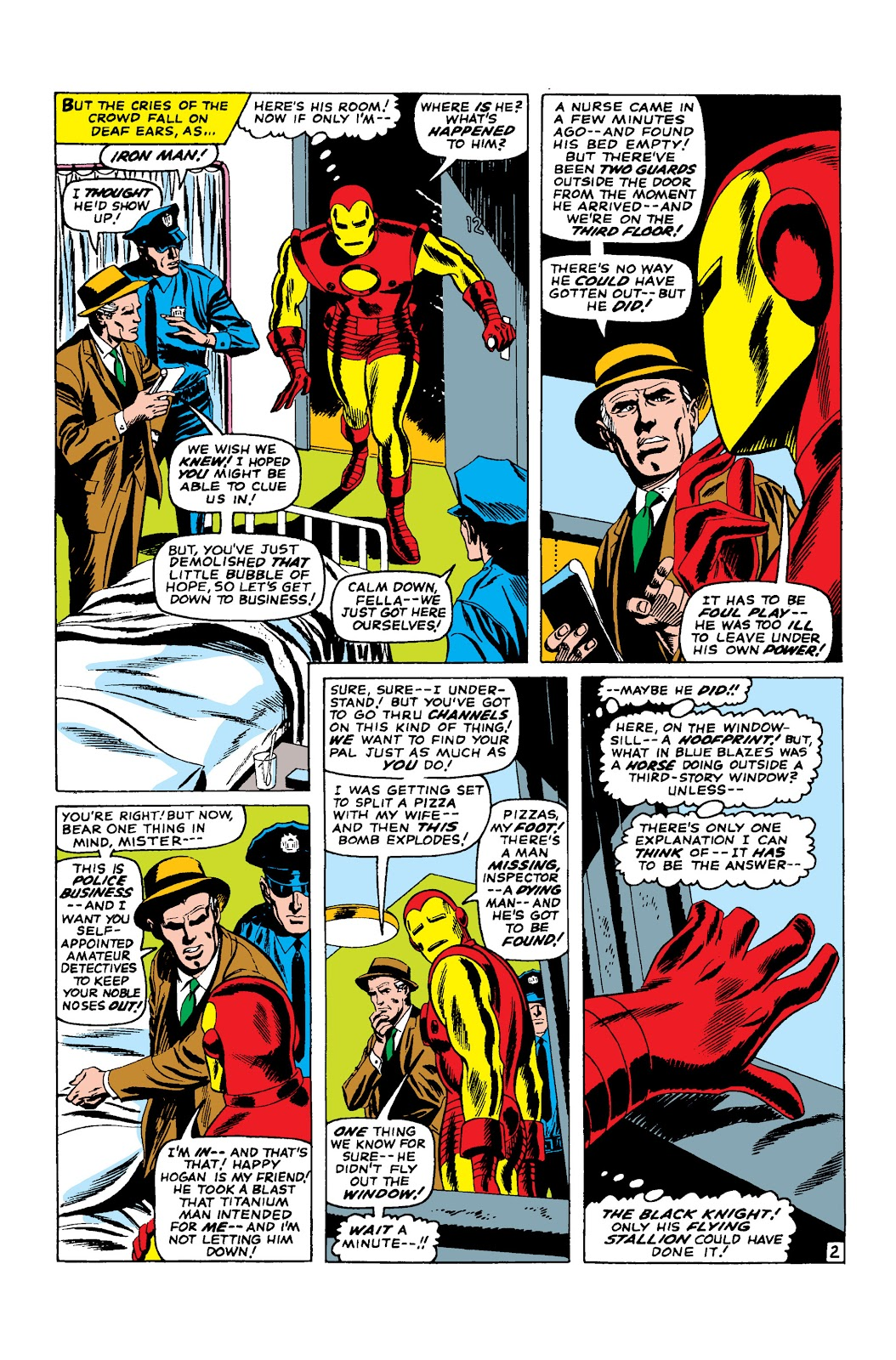 Read online Marvel Masterworks: The Invincible Iron Man comic -  Issue # TPB 3 (Part 2) - 66