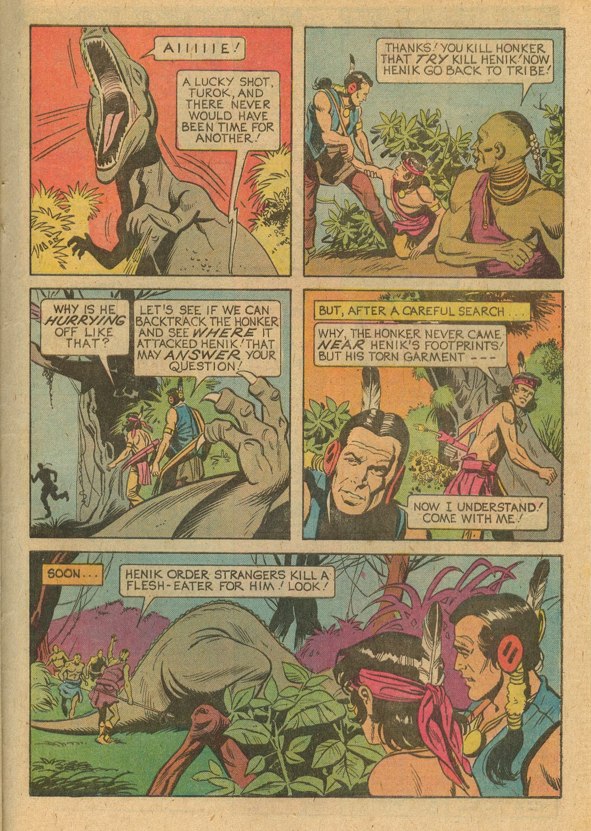 Read online Turok, Son of Stone comic -  Issue #105 - 29
