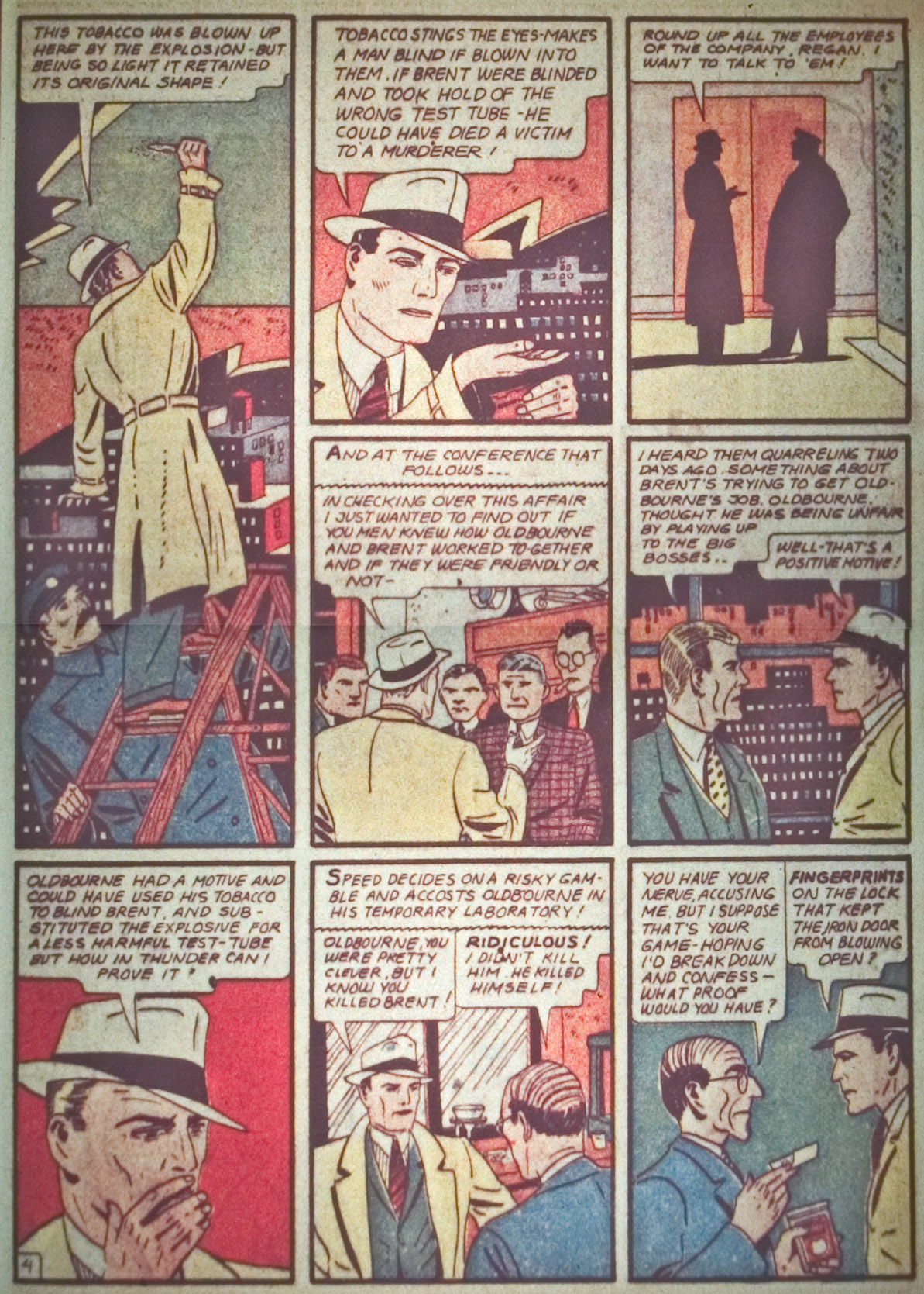 Detective Comics (1937) 29 Page 38