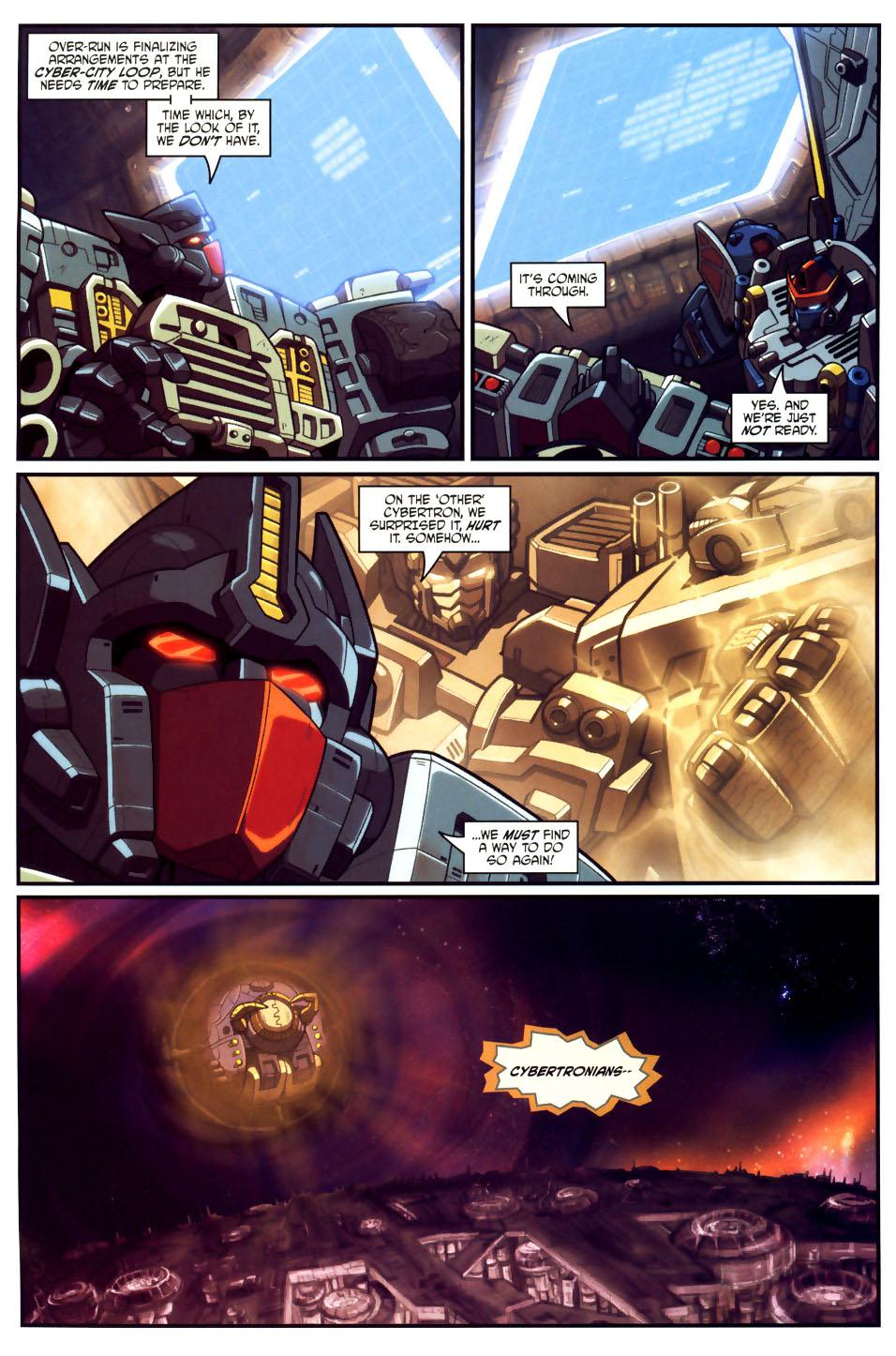 Read online Transformers Armada comic -  Issue #18 - 12