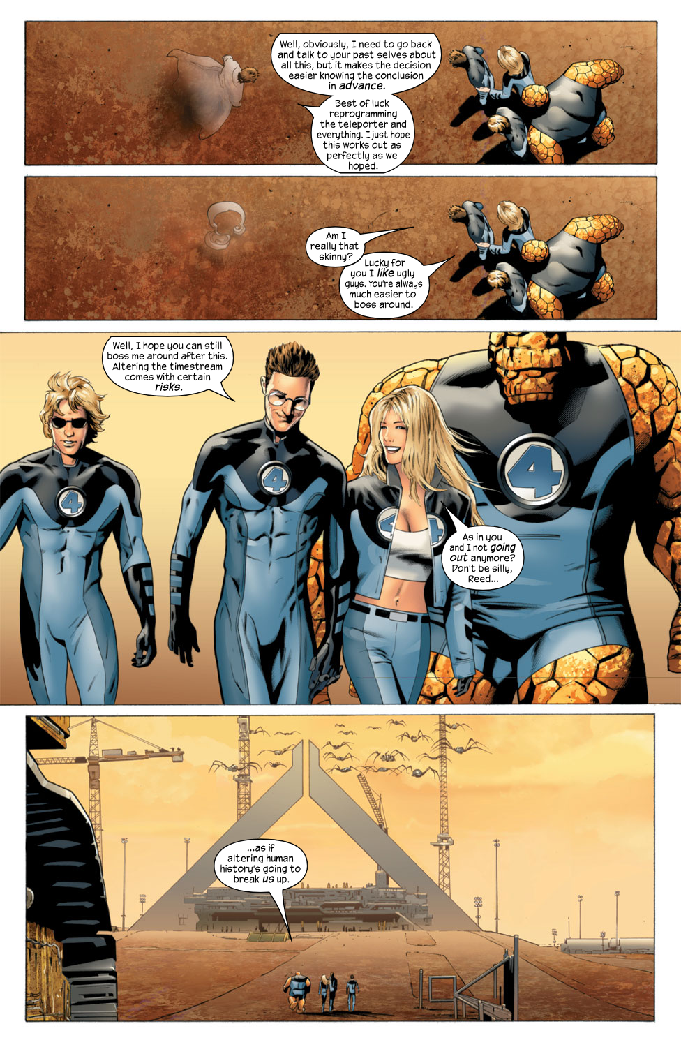Read online Ultimate Fantastic Four (2004) comic -  Issue #27 - 21