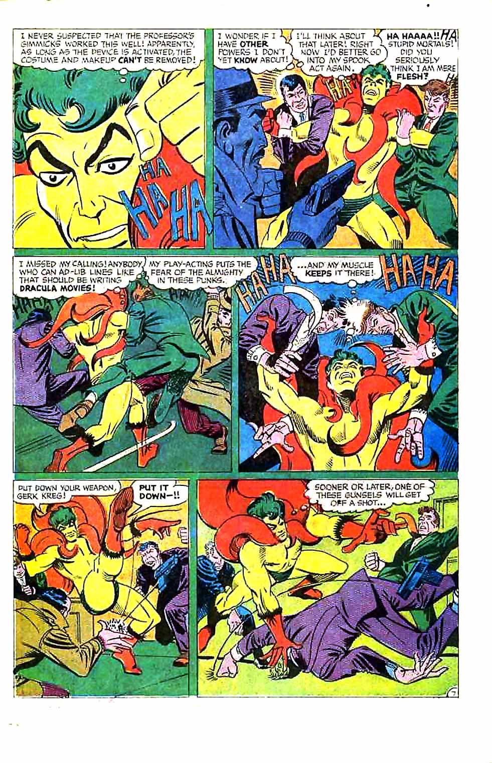Beware The Creeper (1968) issue 1 - Page 10