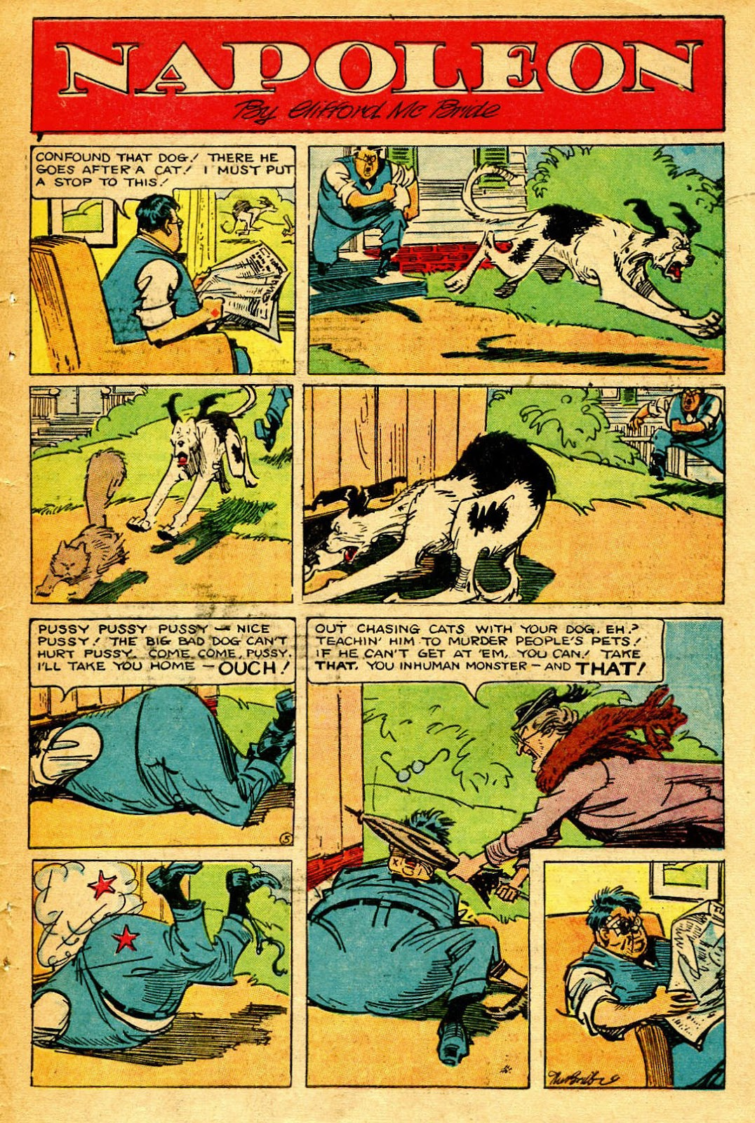 Read online Famous Funnies comic -  Issue #126 - 47