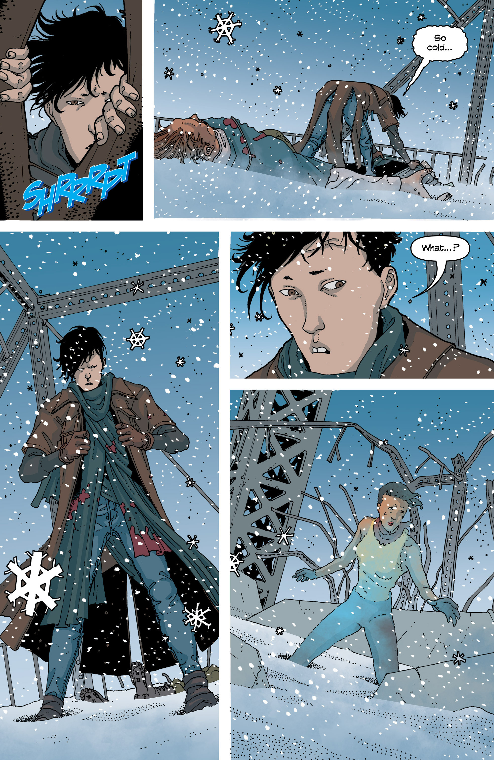 Read online Snowfall comic -  Issue #6 - 8
