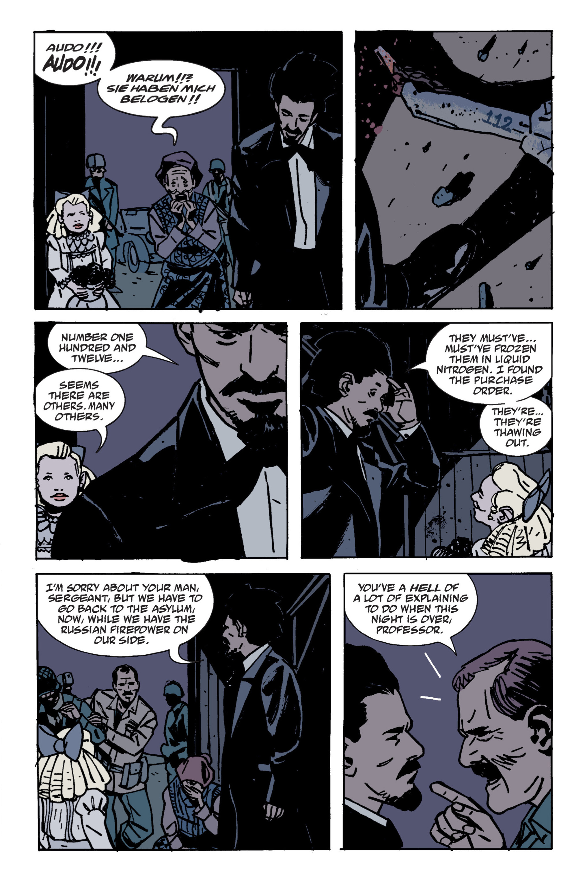 Read online B.P.R.D. (2003) comic -  Issue # TPB 9 - 48
