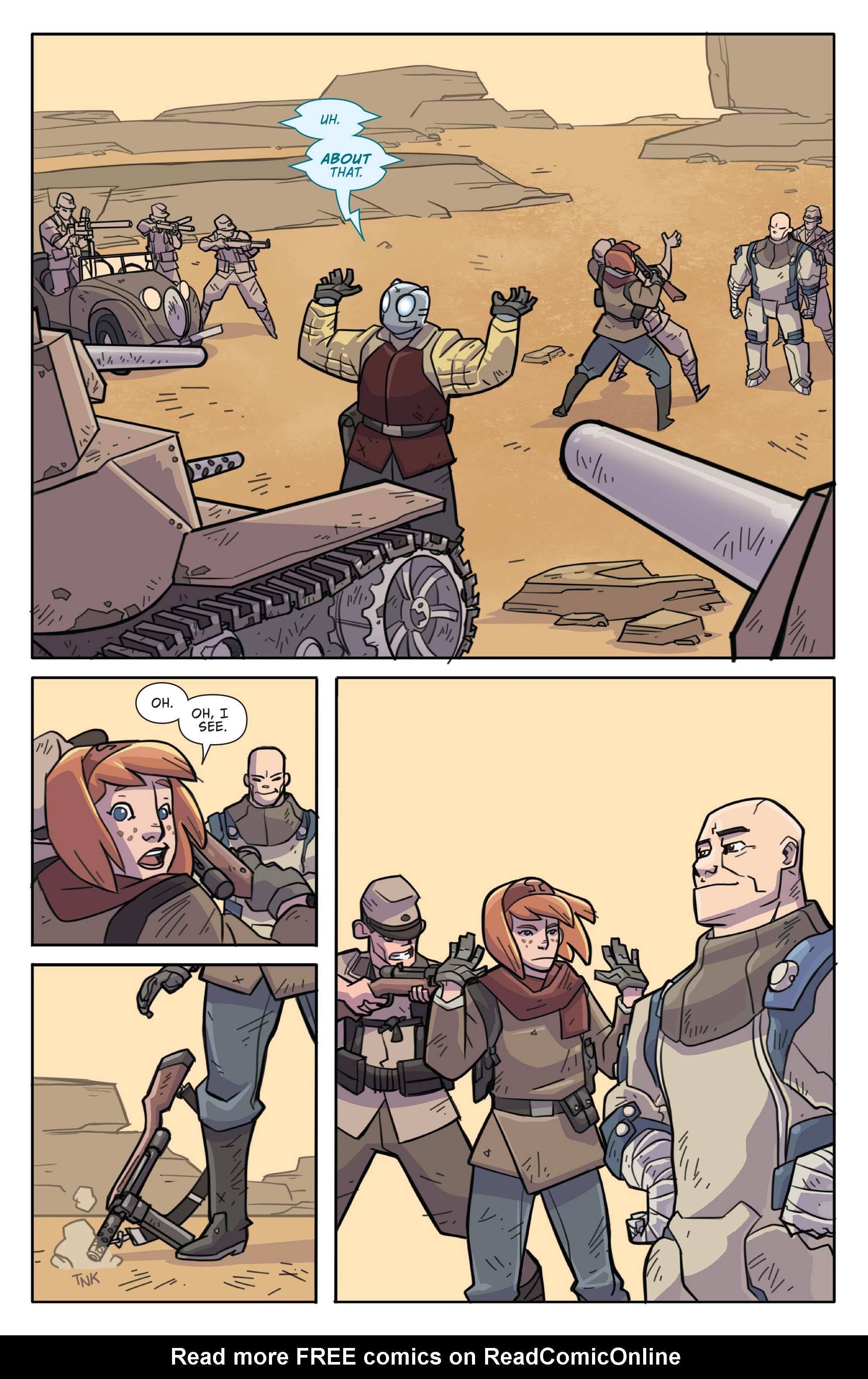 Read online Atomic Robo and the Temple of Od comic -  Issue #1 - 22