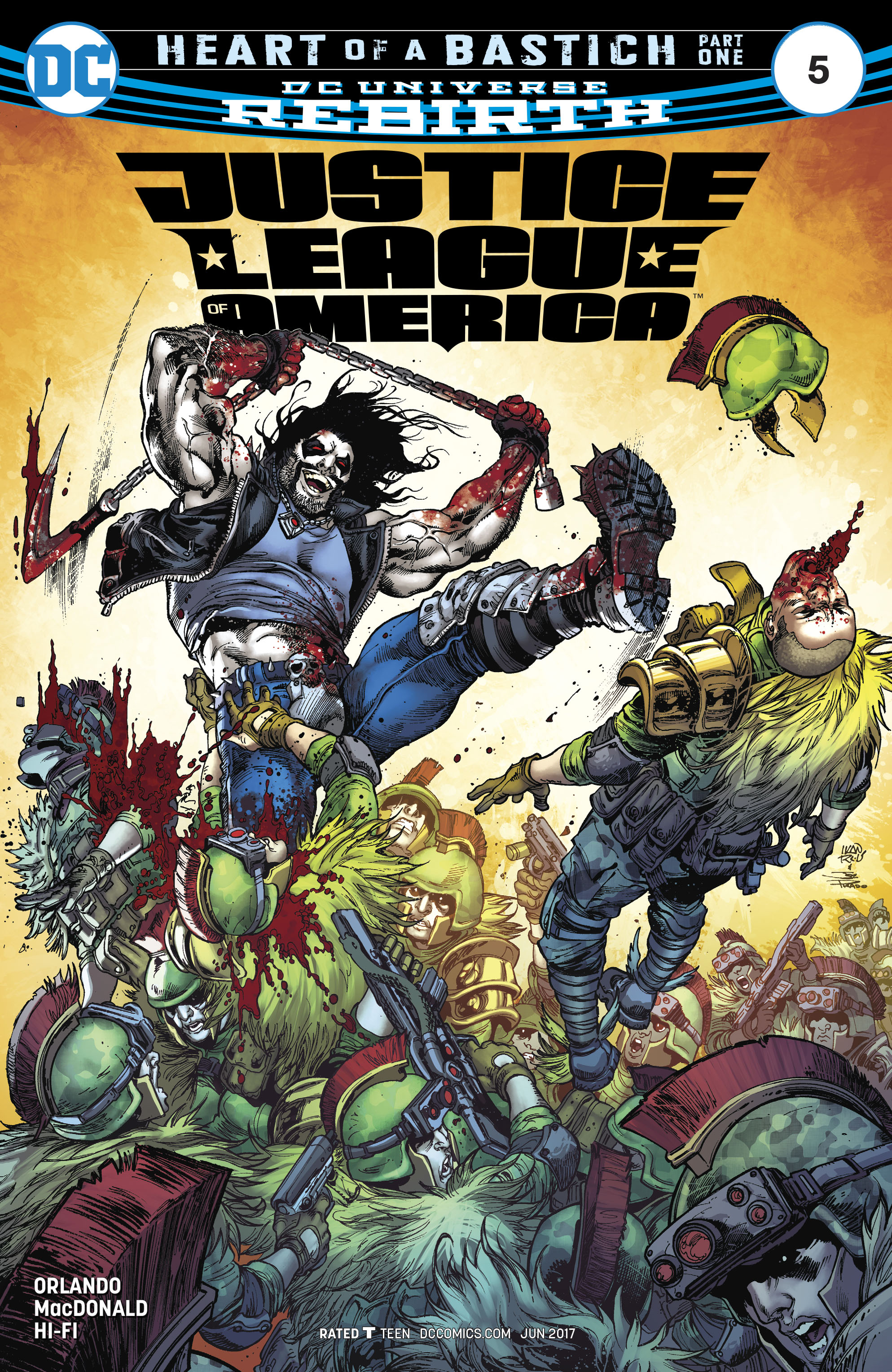 Read online Justice League of America (2017) comic -  Issue #5 - 1