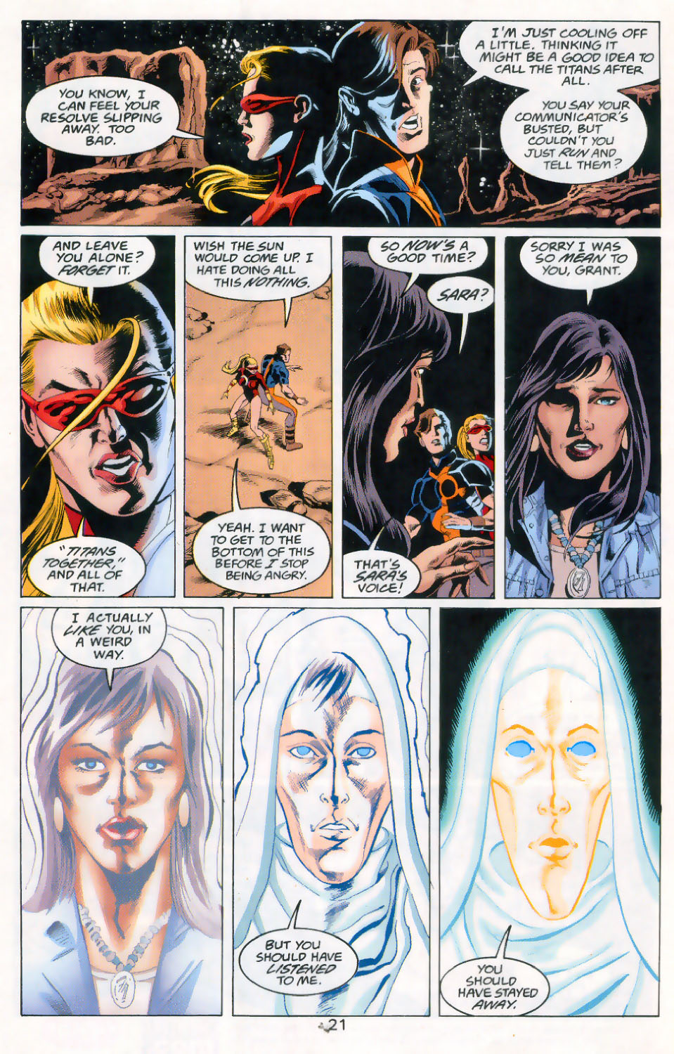 Read online The Titans (1999) comic -  Issue #45 - 22