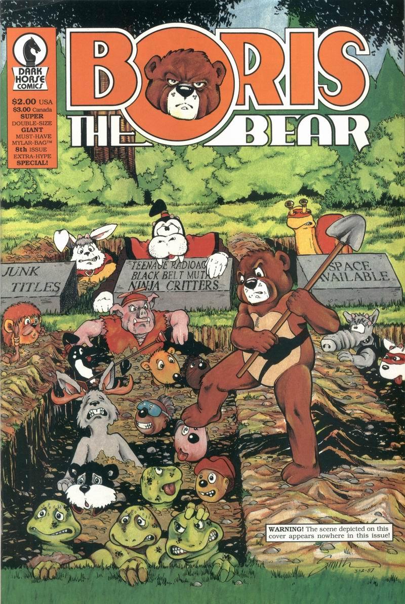 Boris The Bear 8 Page 1