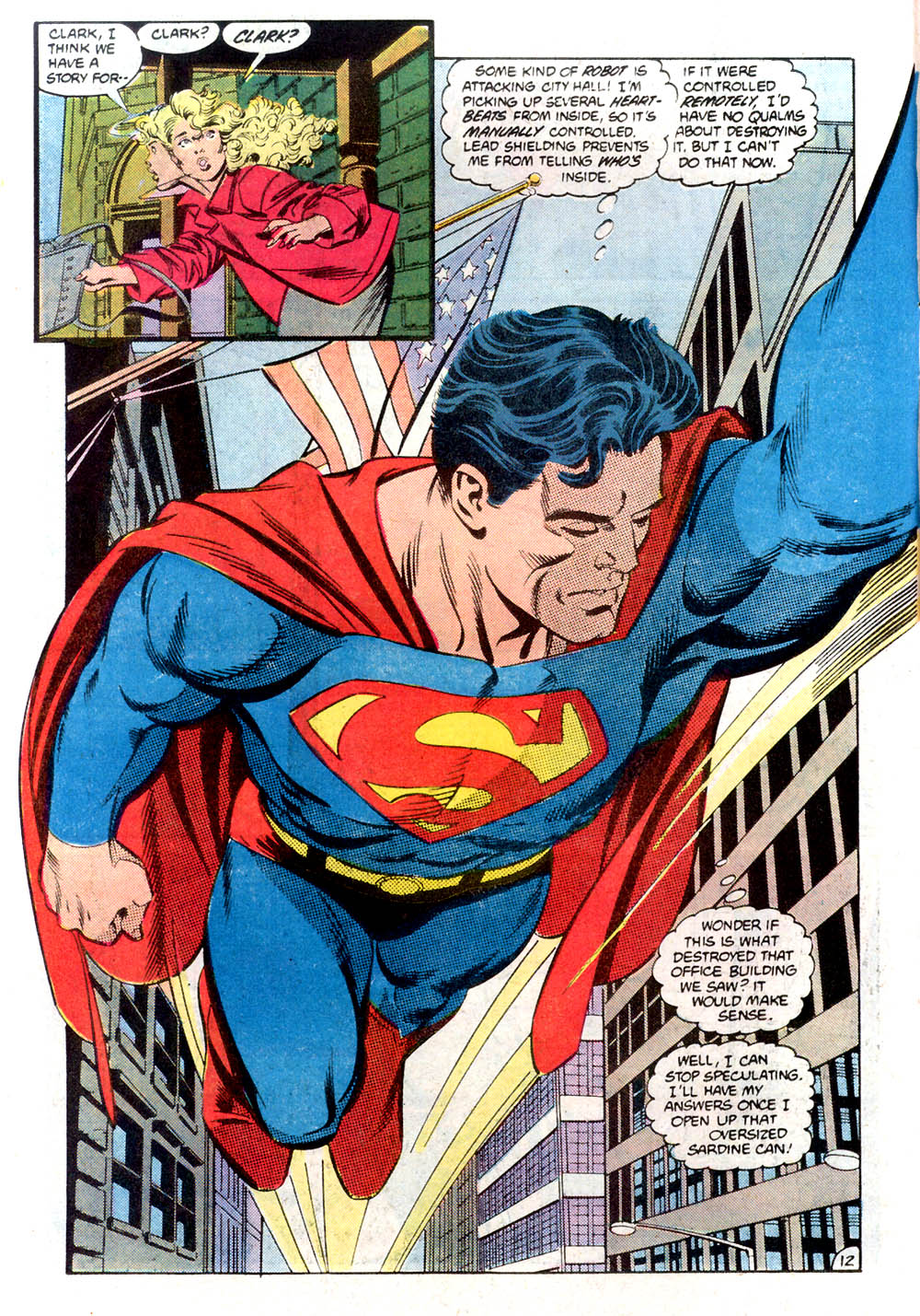 Read online Adventures of Superman (1987) comic -  Issue #424 - 13